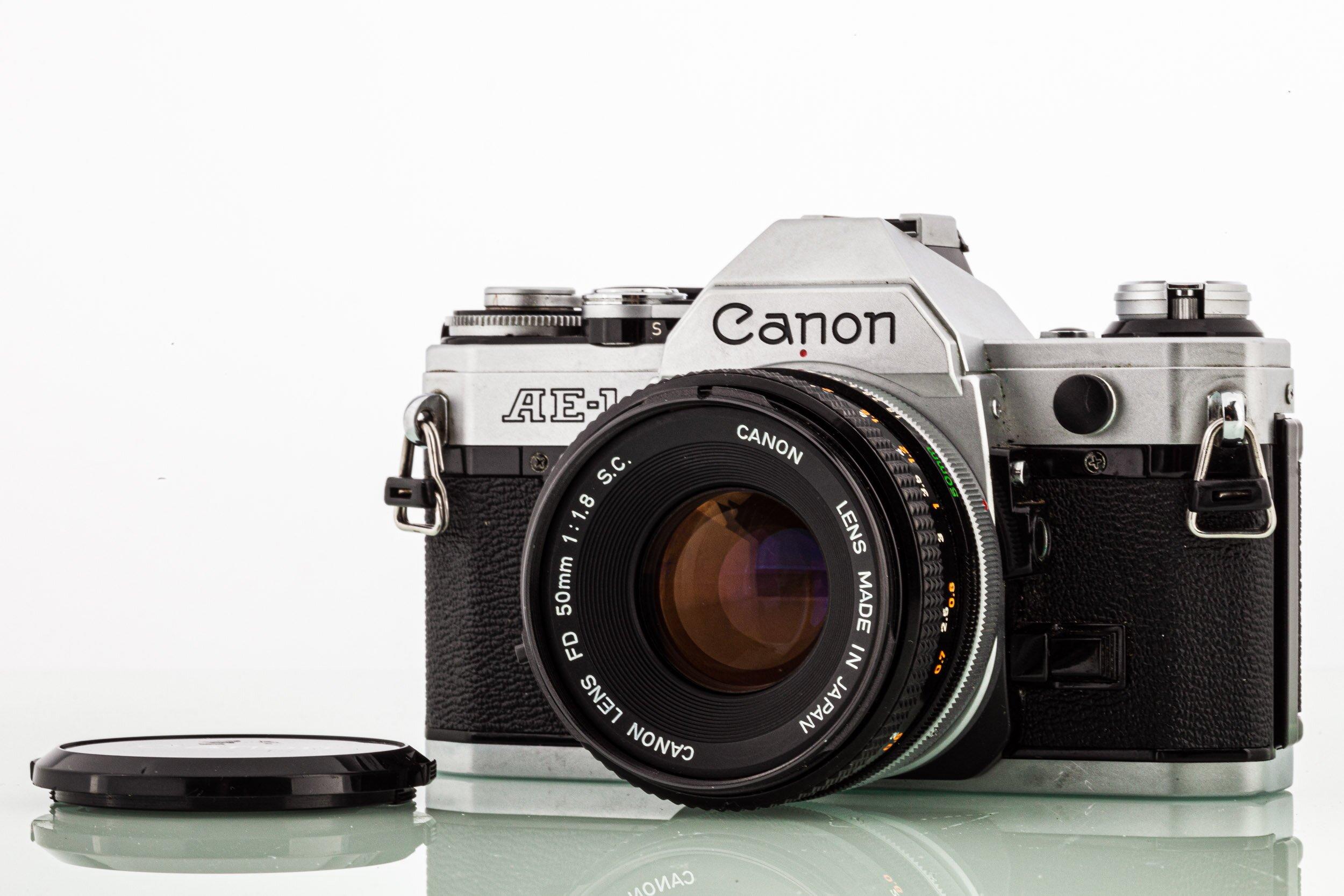 Canon AE-1 + Canon FD 1,8/50mm S.C