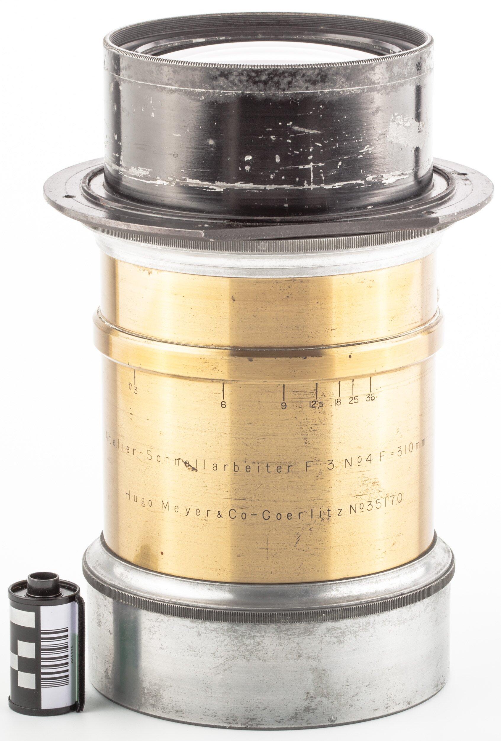 Hugo Meyer & Co-Goerlitz F:3 No4 F=310mm  Atelier-Schnellarbeiter