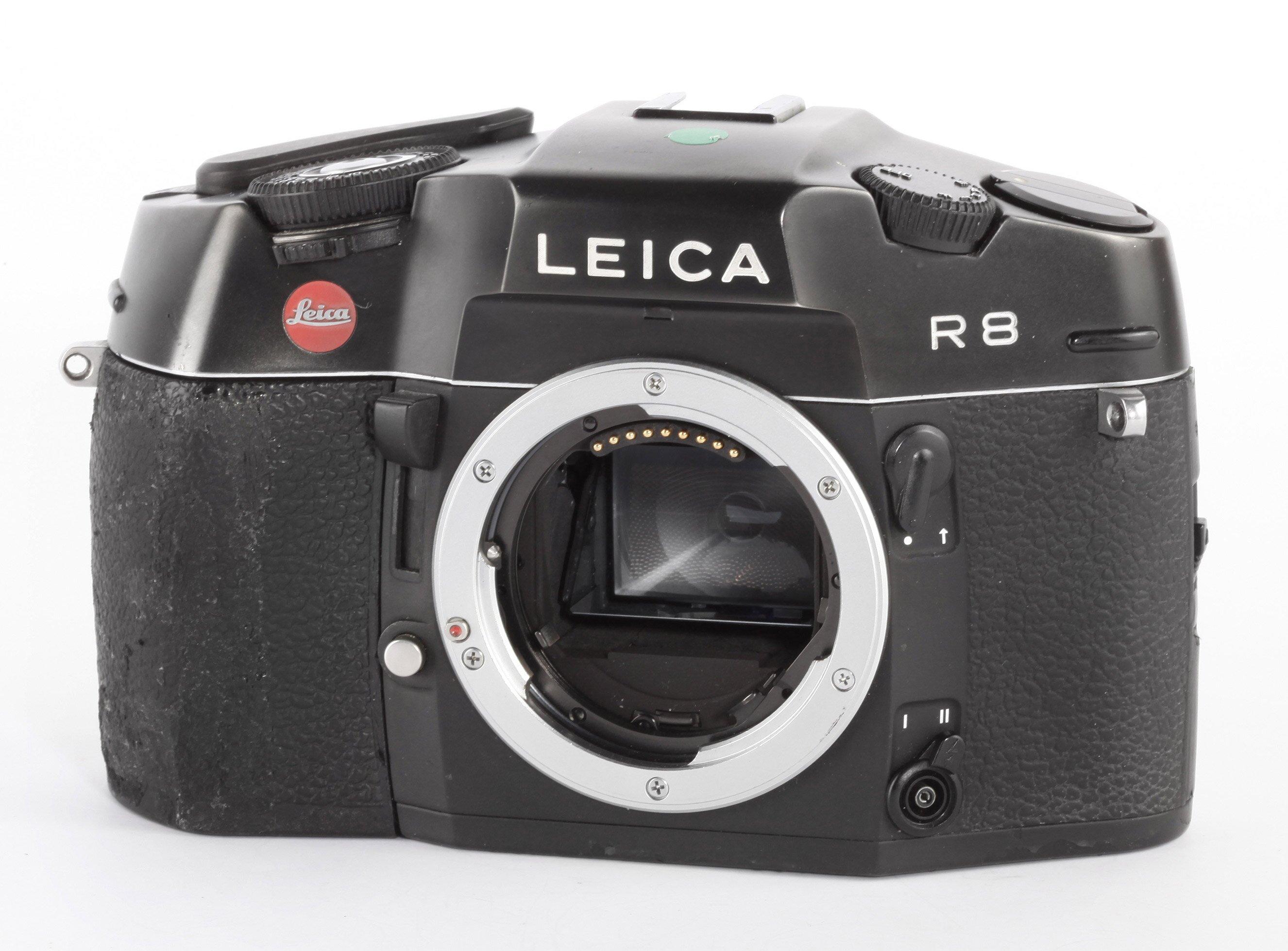 Leica R8 schwarz