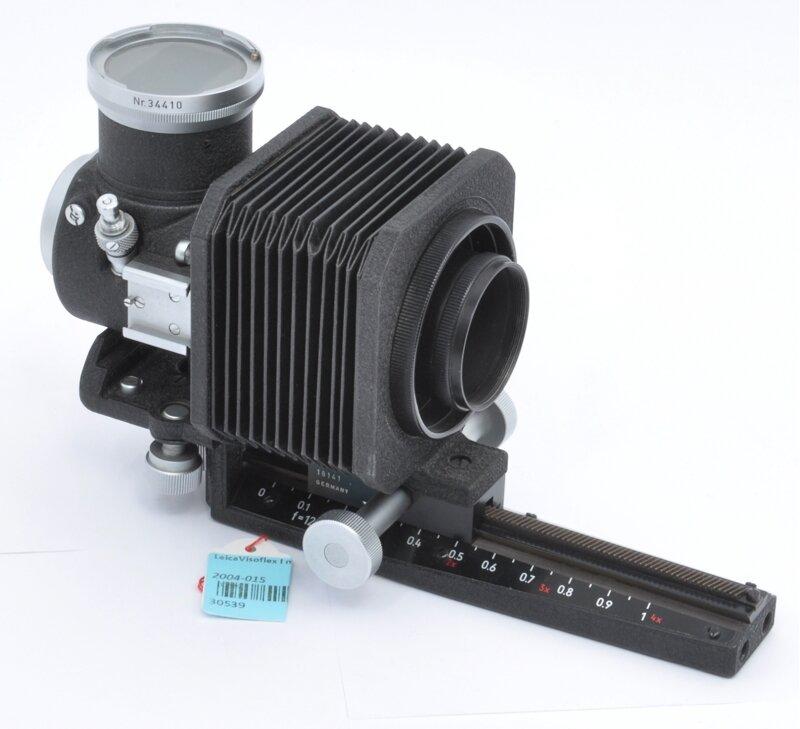 Leica Visoflex I mit Balgen