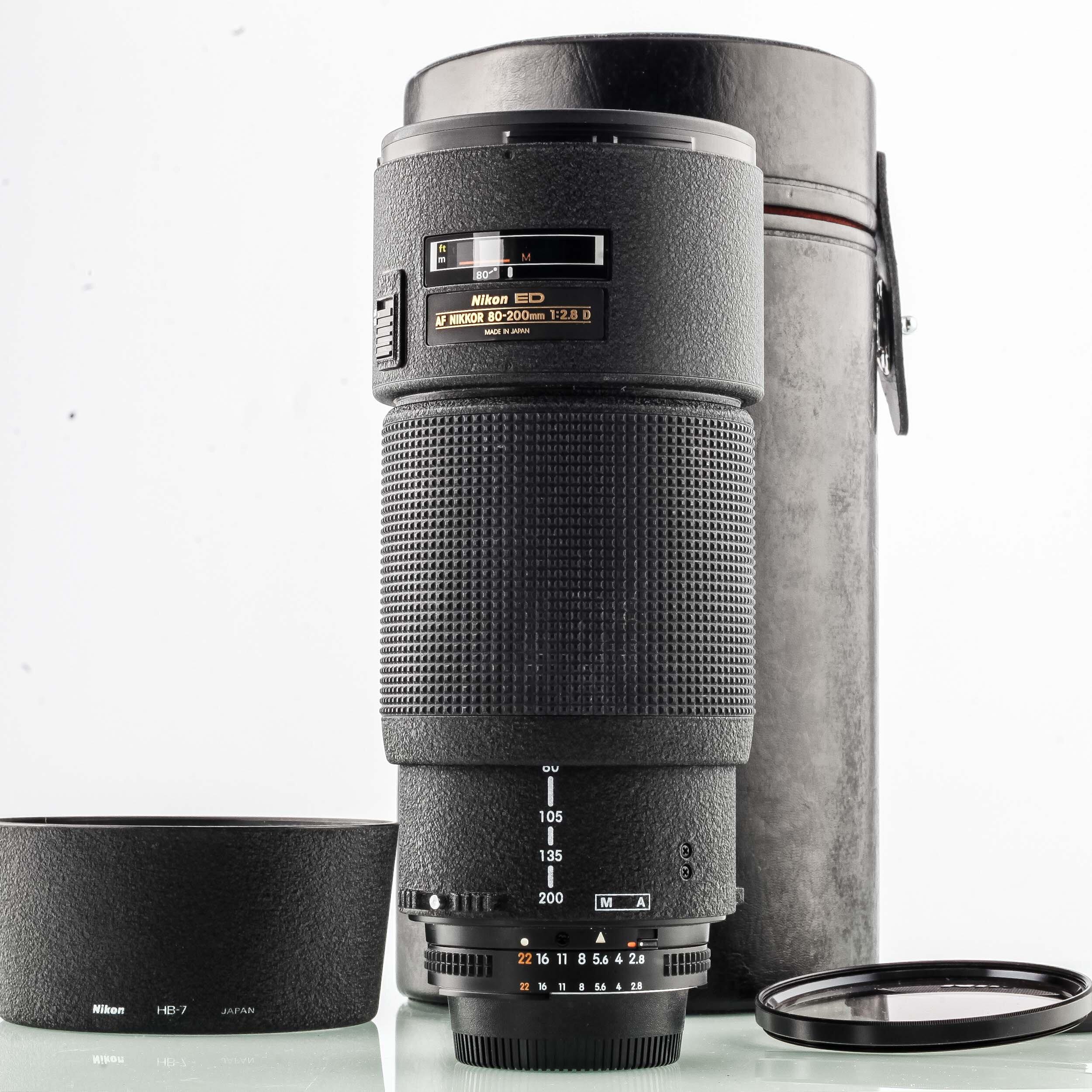 Nikon AF 80-200mm 2,8 D ED Nikkor