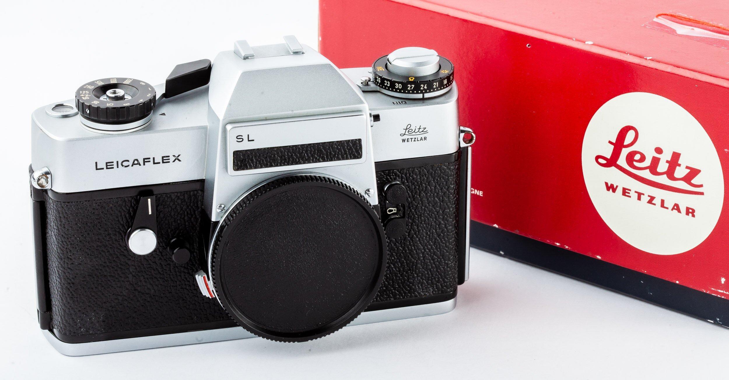 Leicaflex SL chrom Gehäuse