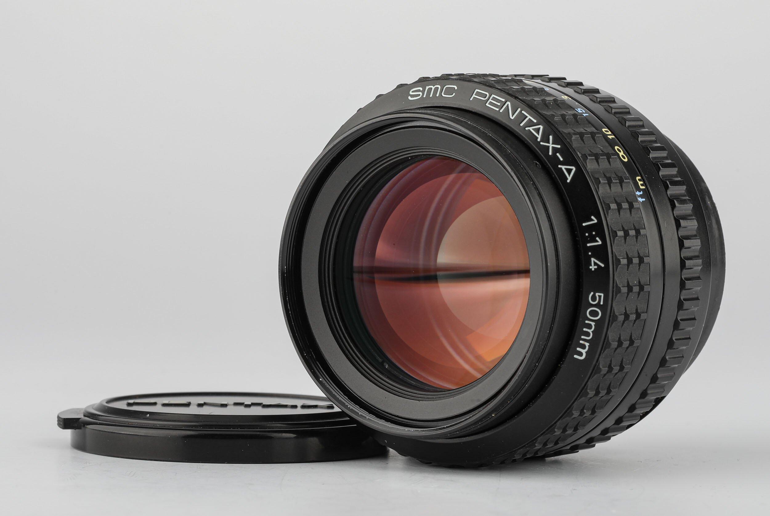 SMC Pentax-A 1,4/50mm Objektiv