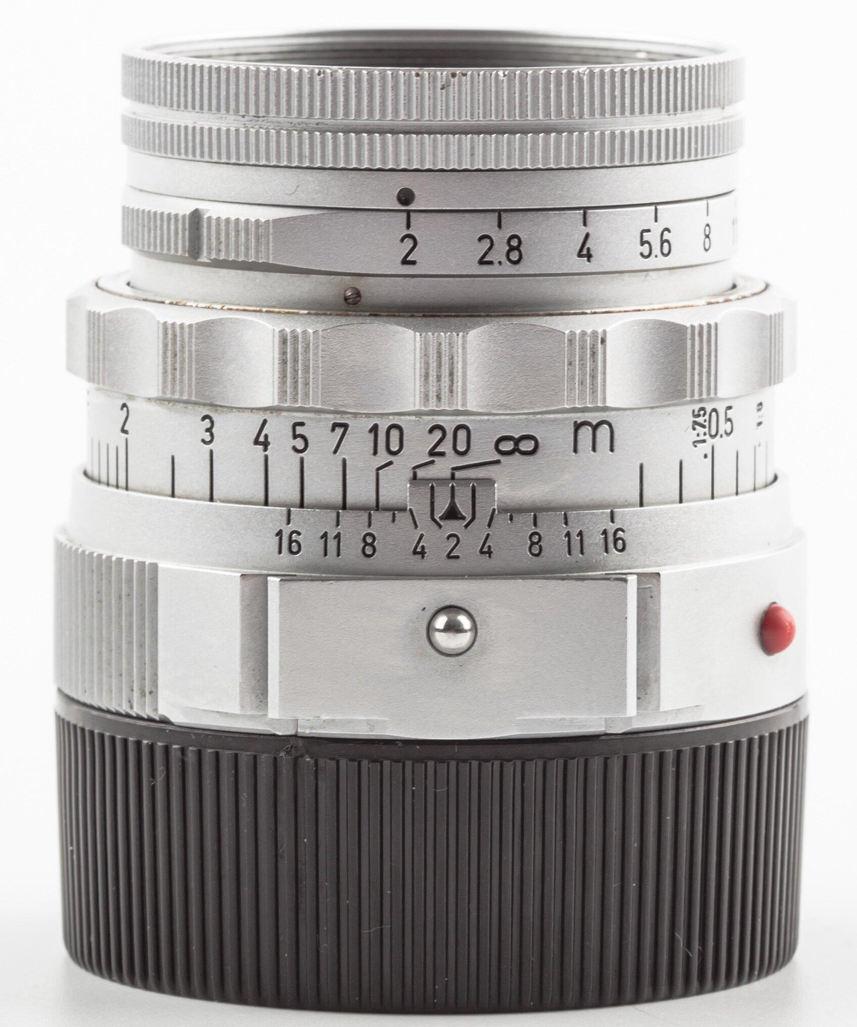 Leitz Leica M Summicron 5cm F2.0 Silver