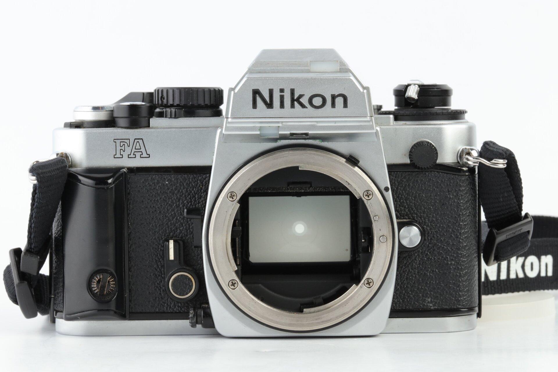 Nikon FA Gehäuse chrom