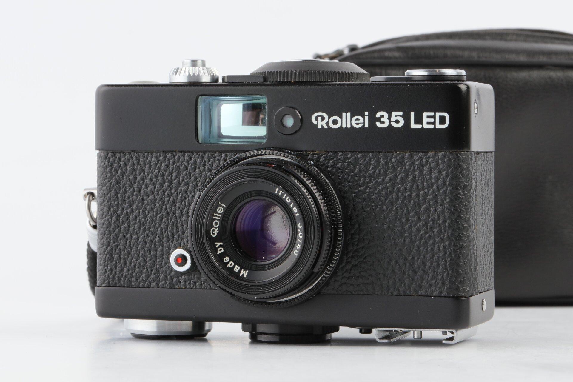 Rollei 35 LED mit Triotar 40mm F3,5