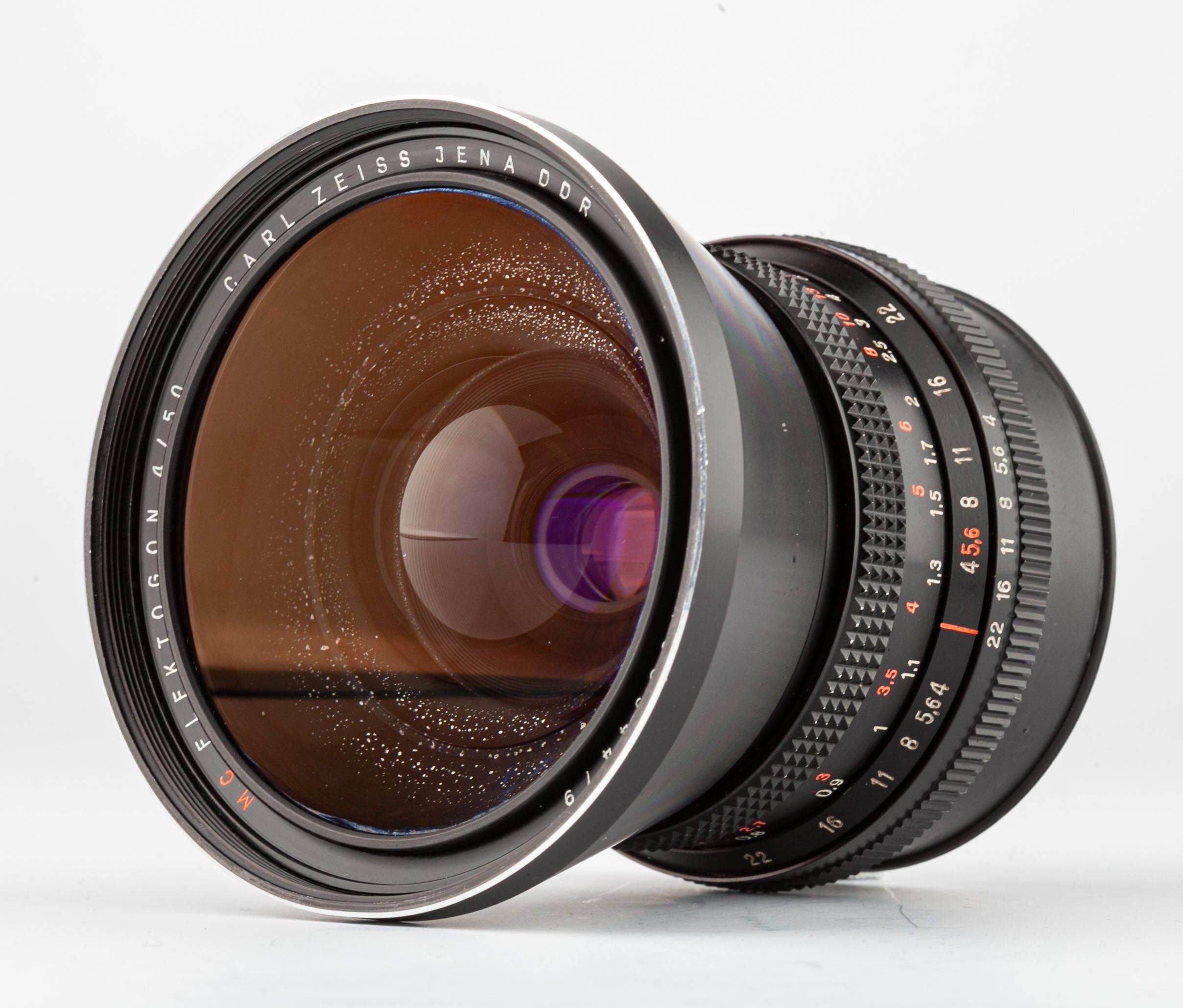 Carl Zeiss Flektagon 4/50mm f.Pentacon Six