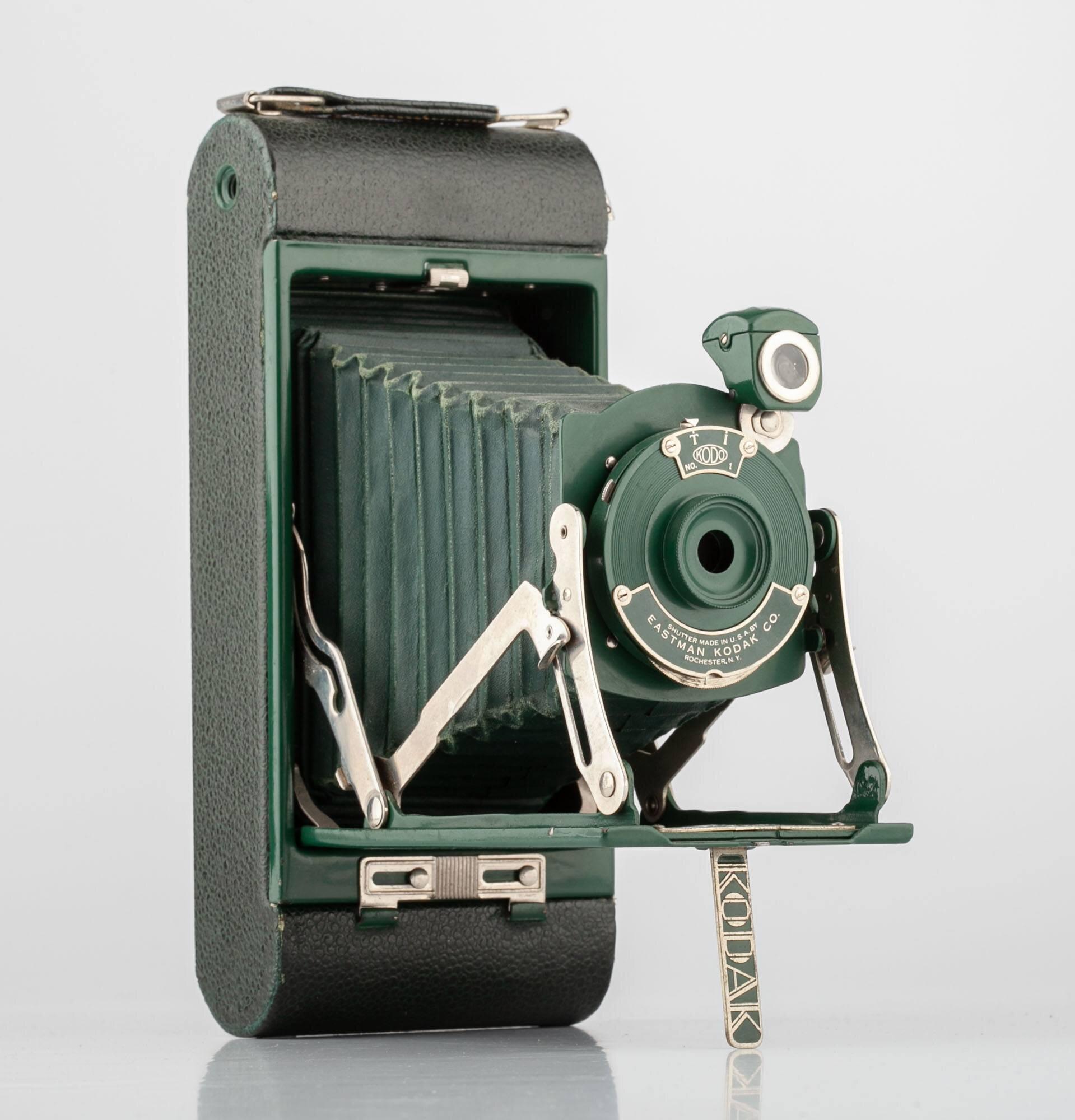 Kodak braun Mittelformatkamera Faltkamera