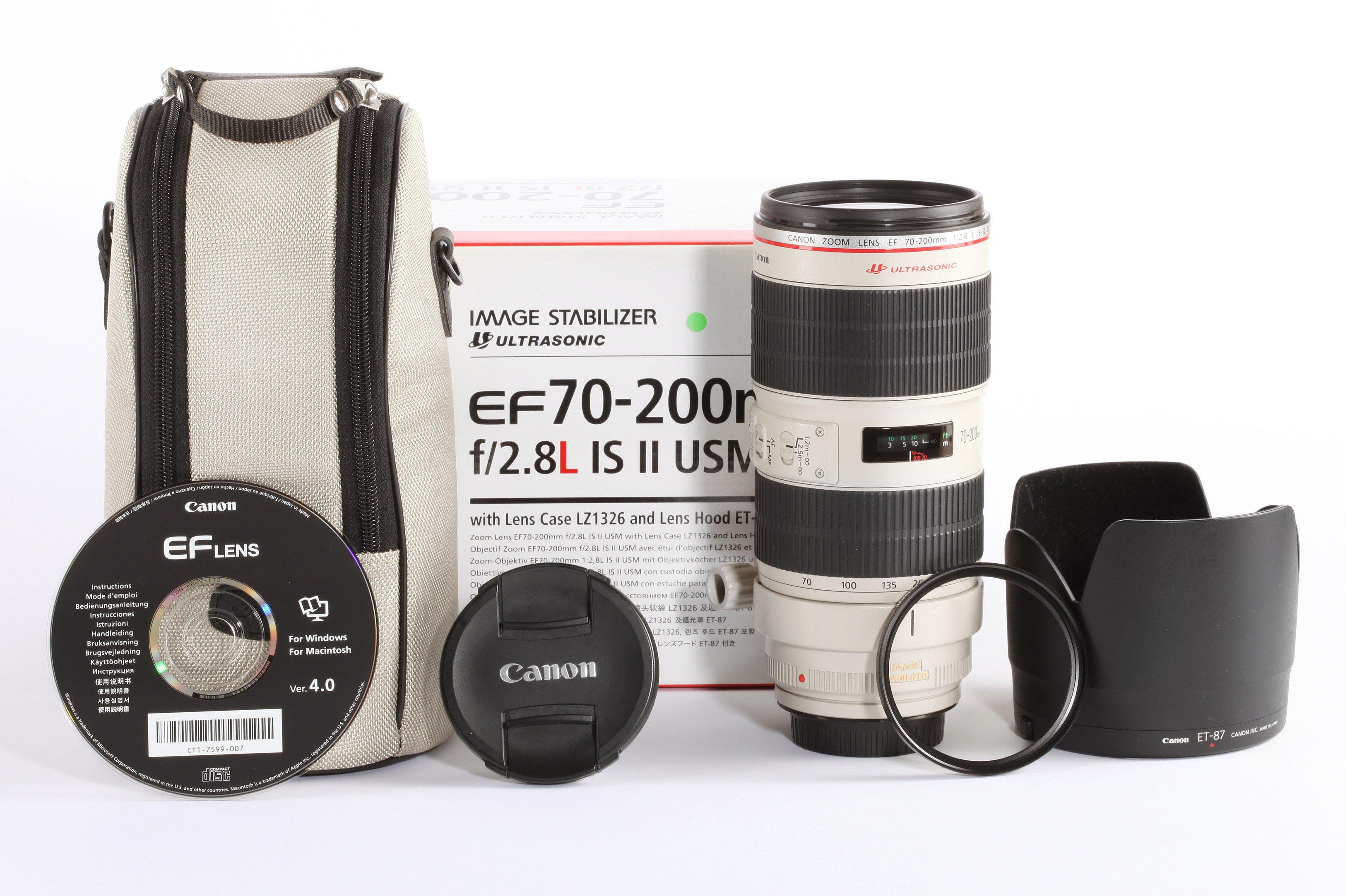 Canon 70-200mm 2,8 L II USM
