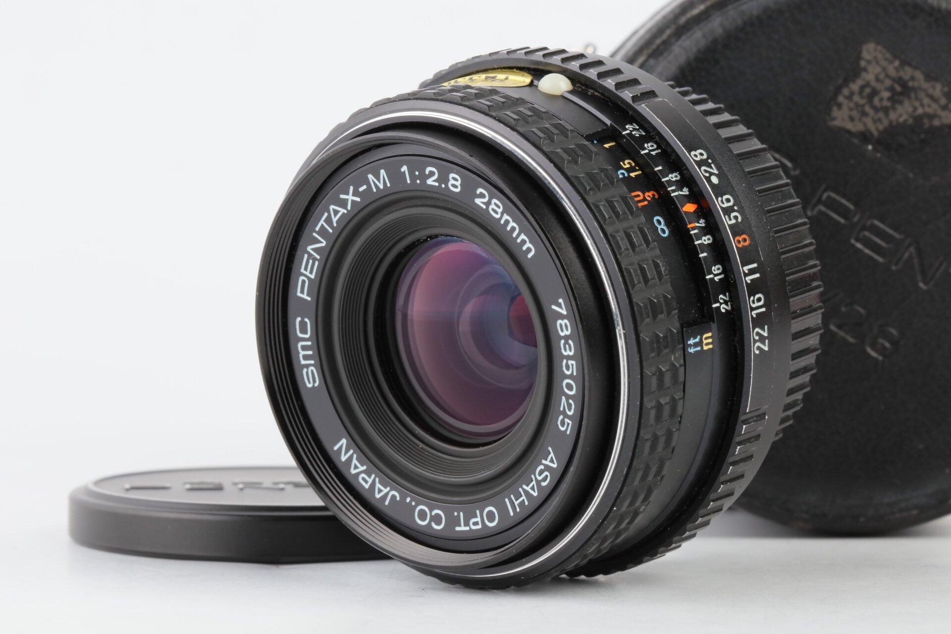 Pentax K 28mm 2,8 SMC Pentax-M