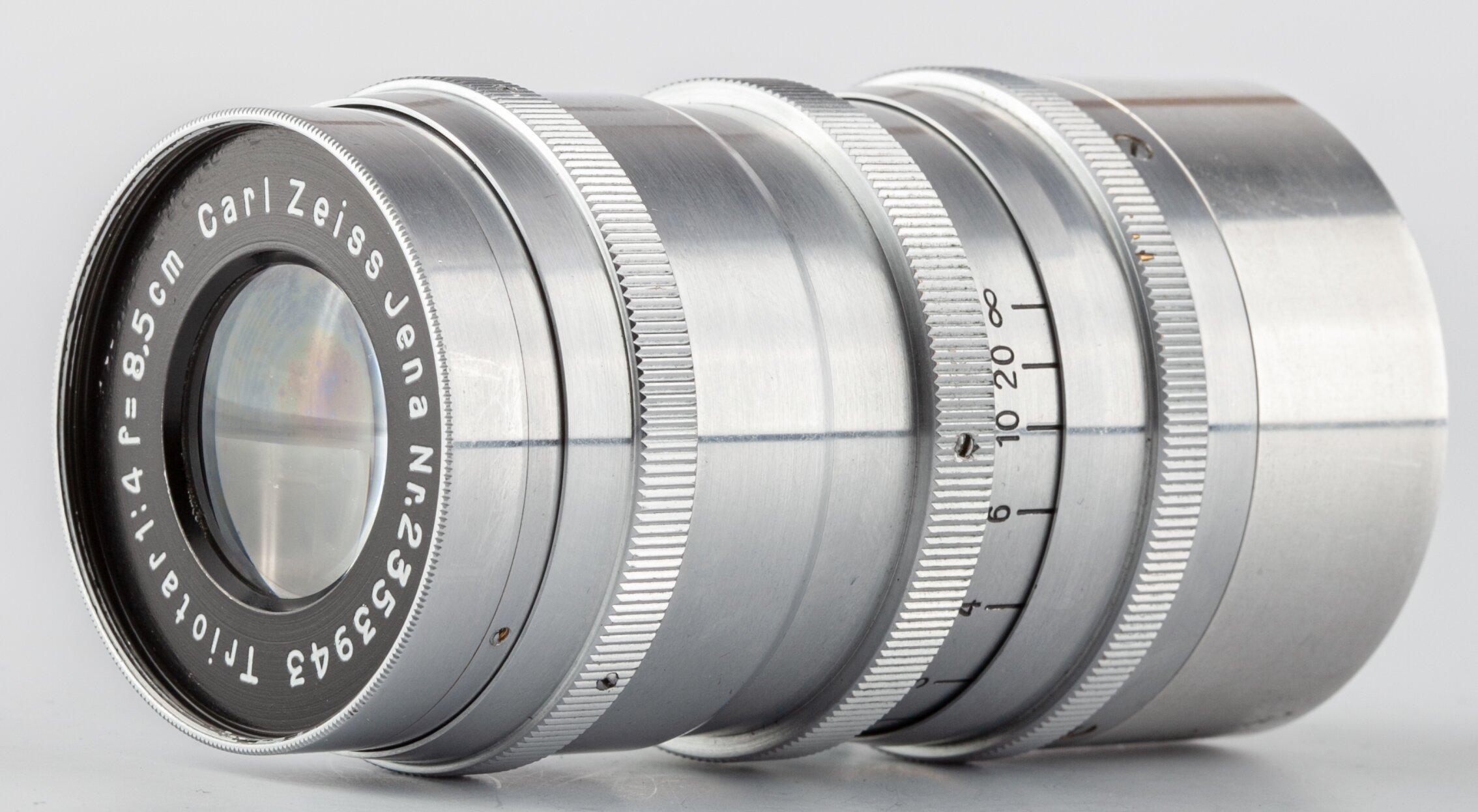 Zeiss Leica 4/8,5 cm Triotar coupling rangefinder M39