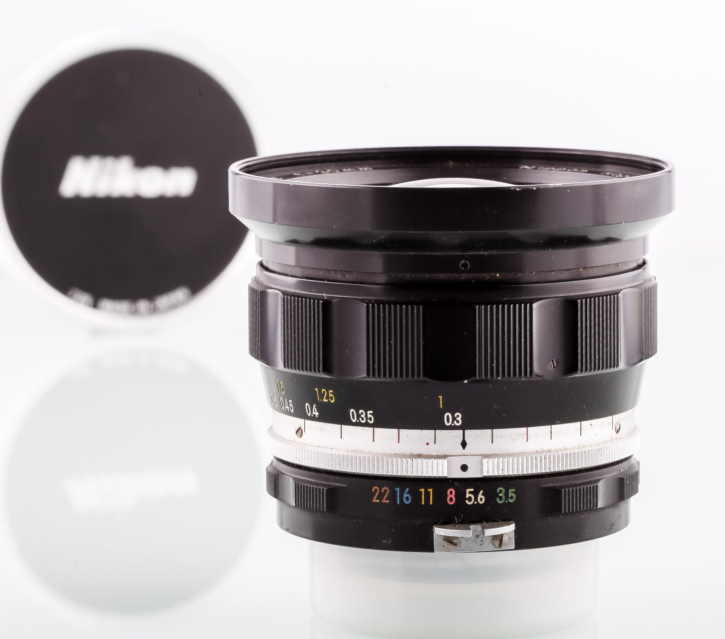 Nikon Nikkor-UD Auto 3,5/20mm Nippon Kogaku