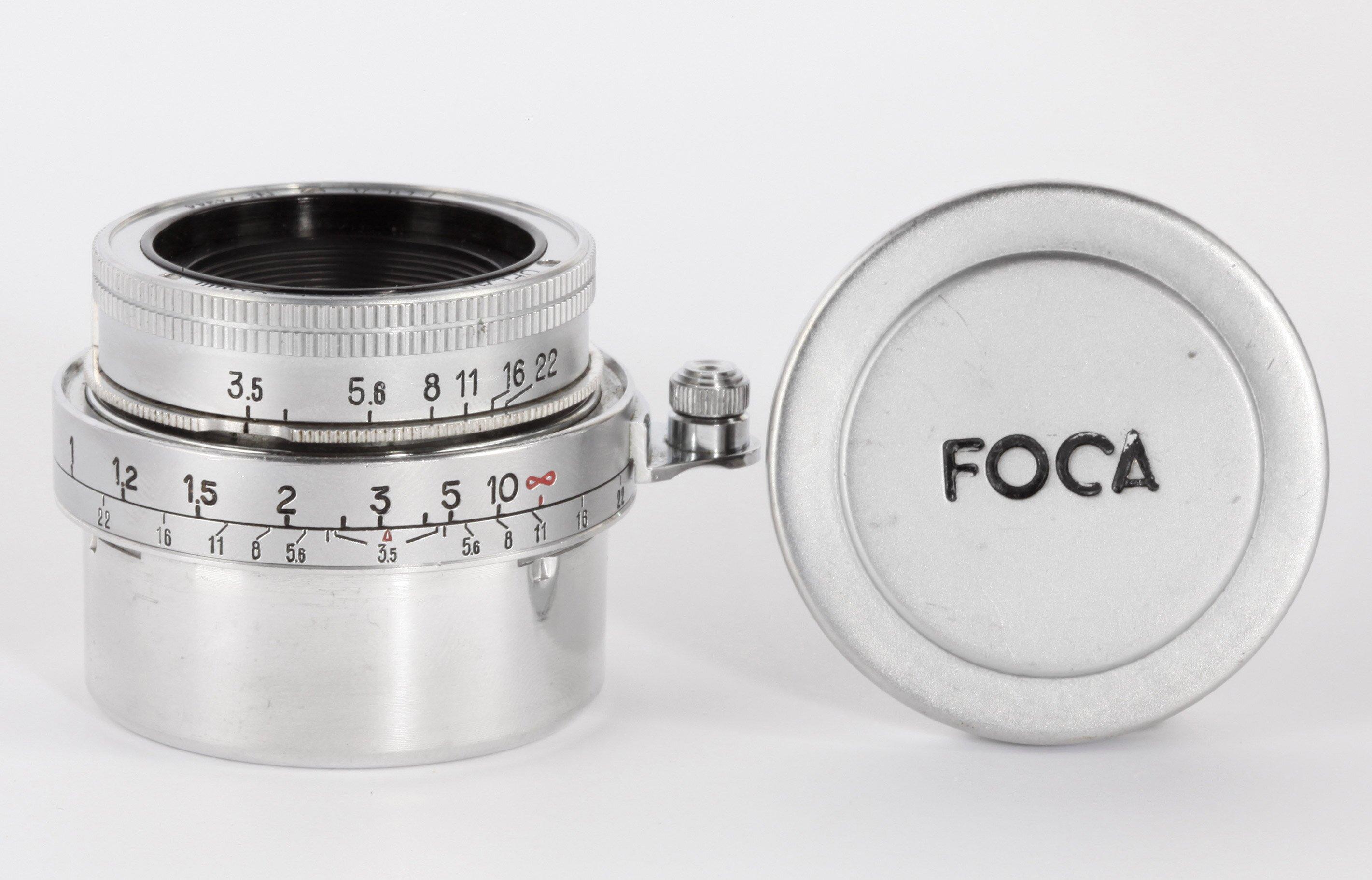 Foca Oplar 3,5/3,5cm f.Contax Messsucherkamera
