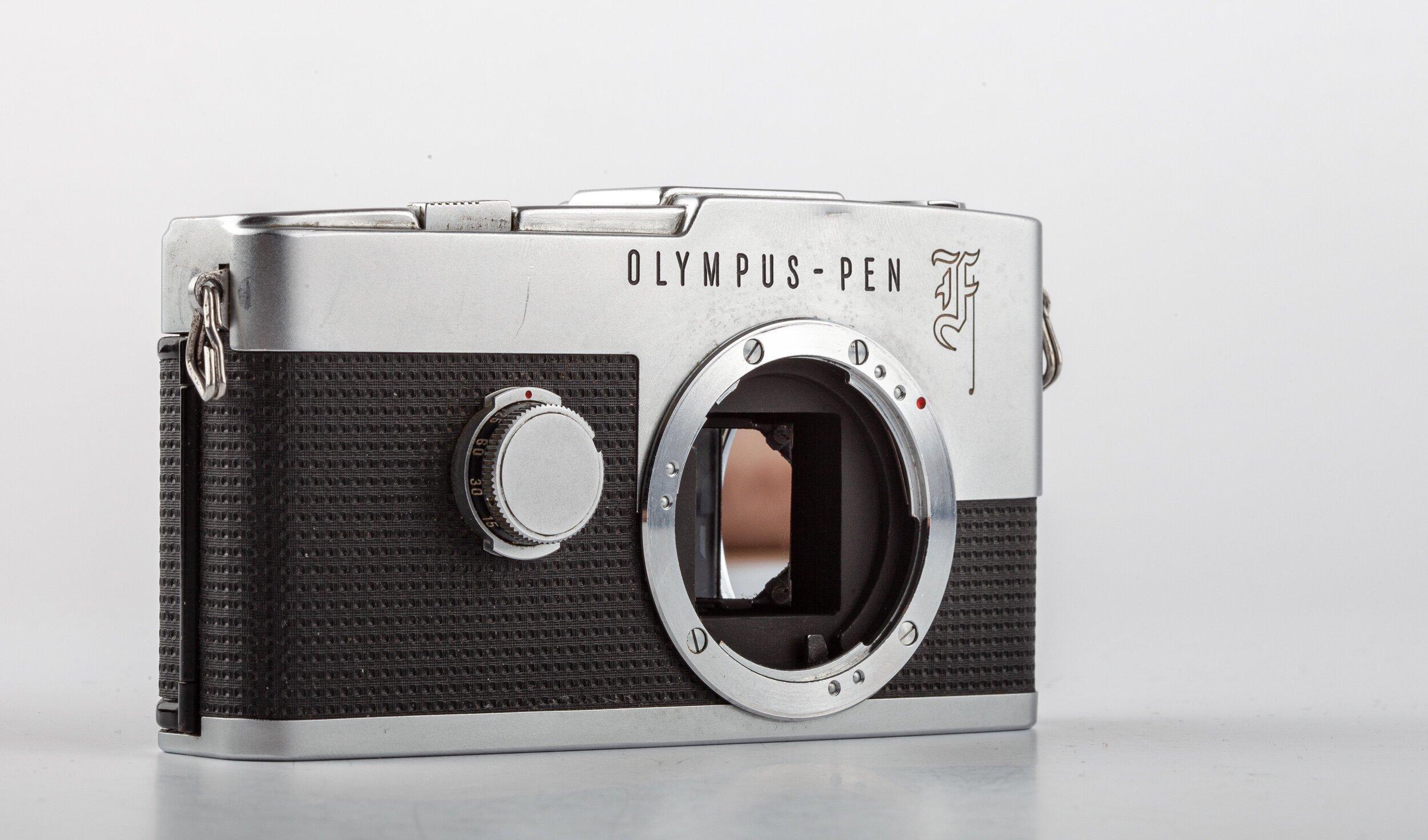 Olympus Pen-F 18x24 Halbformat-Spiegelreflex Gehäuse