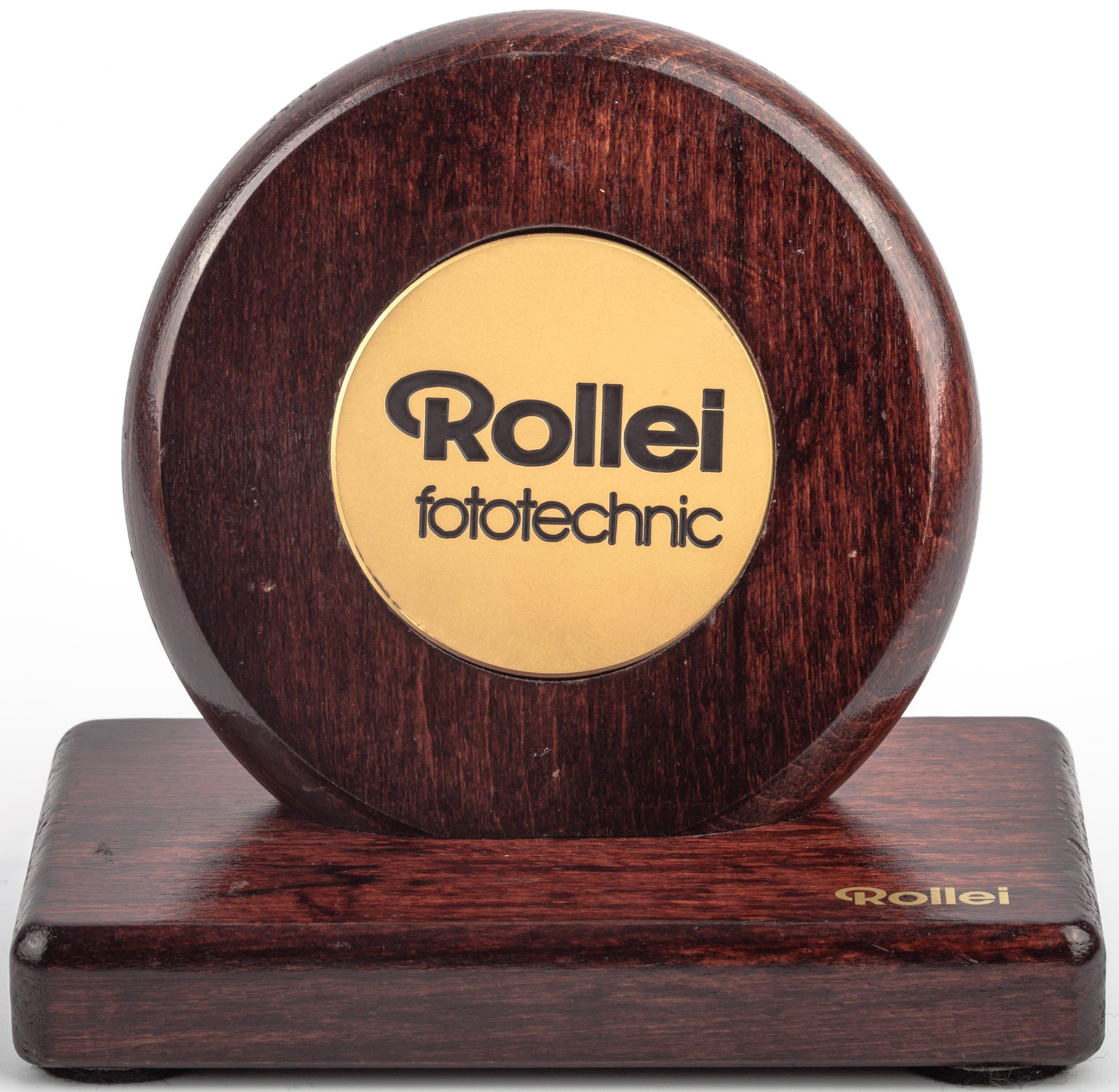 Rollei fototechnik Tisch-/Theken-Aufsteller Holz