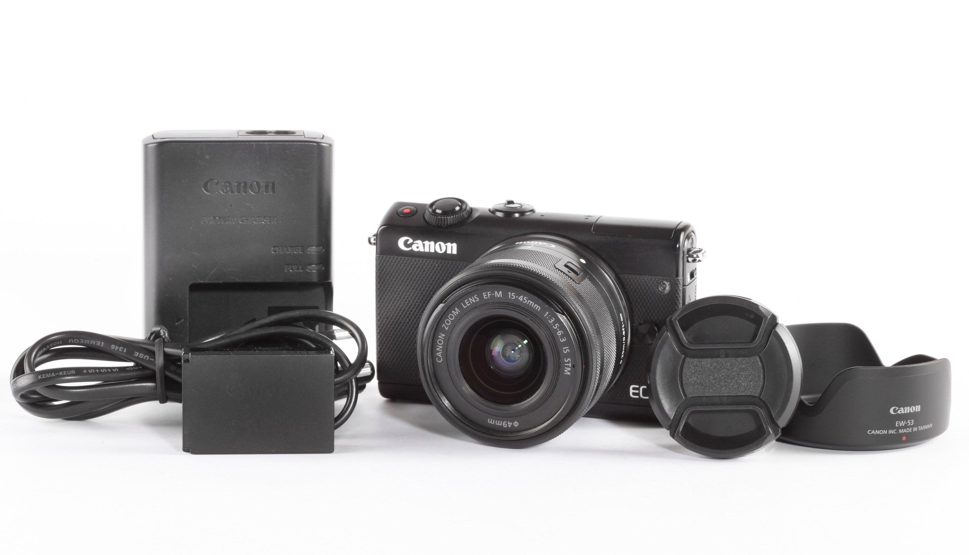 Canon EOS M100 EF-M 15-45mm