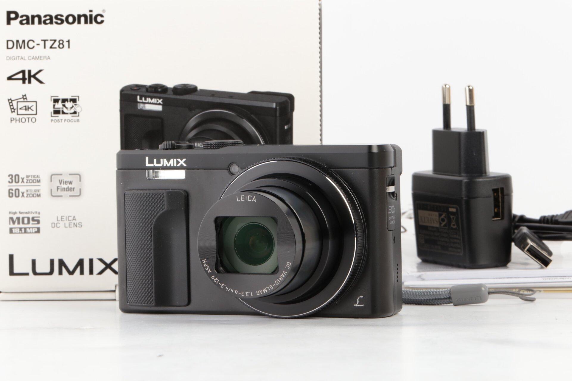 Panasonic DMC-TZ81 schwarz