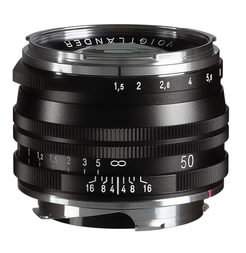 Voigtländer VM 50mm 1:1,5 Nokton M.C. asphärisch Leica M schwarz