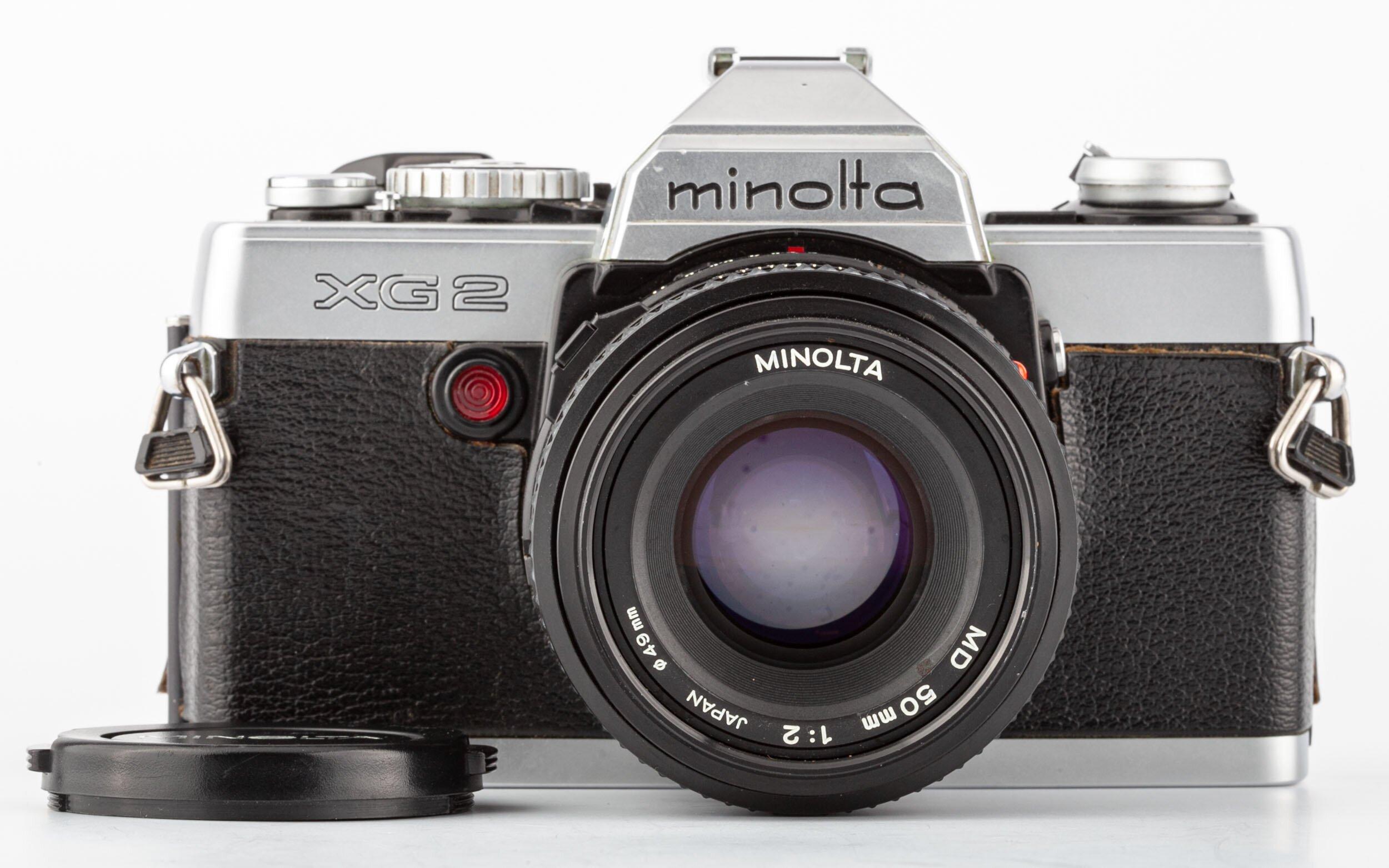 Minolta XG2 & Minolta MD 2,0/50mm