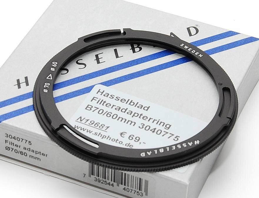 Hasselblad Filteradapterring B70/60mm 3040775