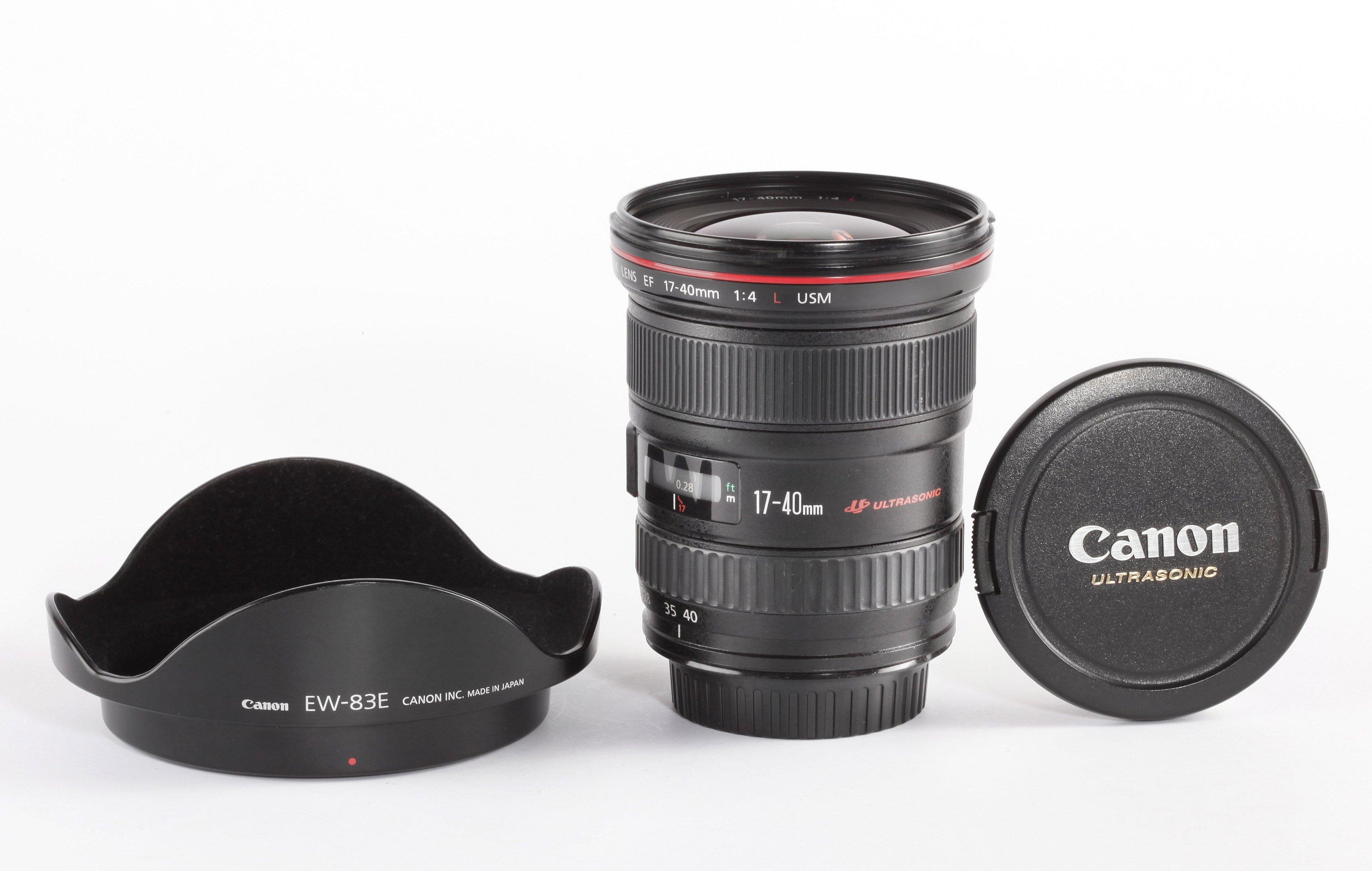 Canon EF 4/17-40mm L USM