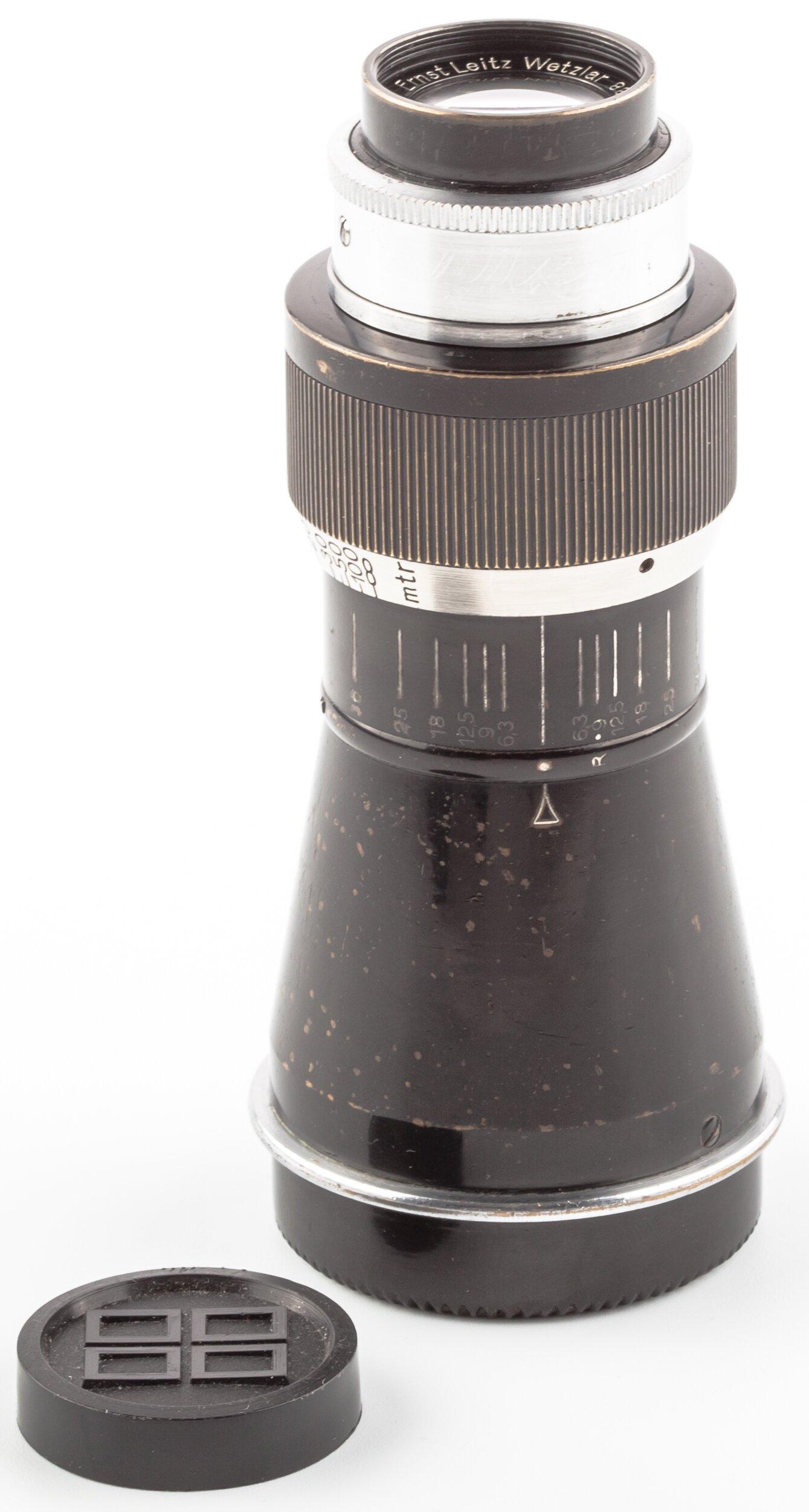 Leica Berg Elmar 6,3/10,5cm ELZEN M39 Screwmount RARE