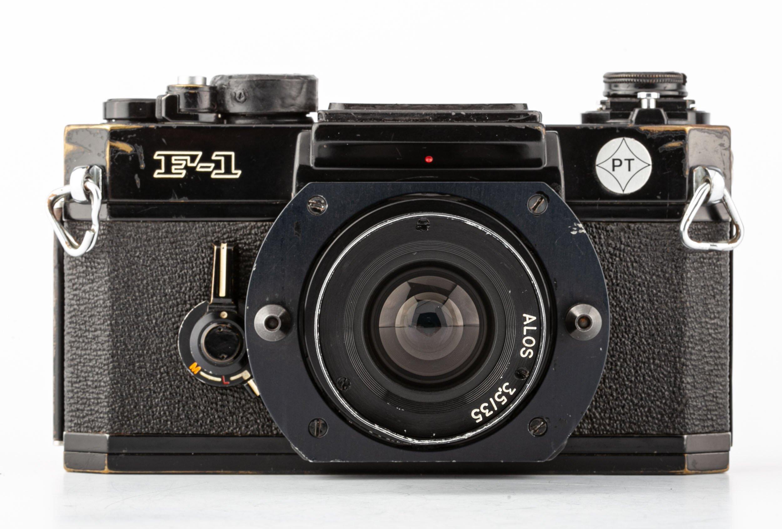 Canon F-1 Post mit ALOS 3,5/35 mm