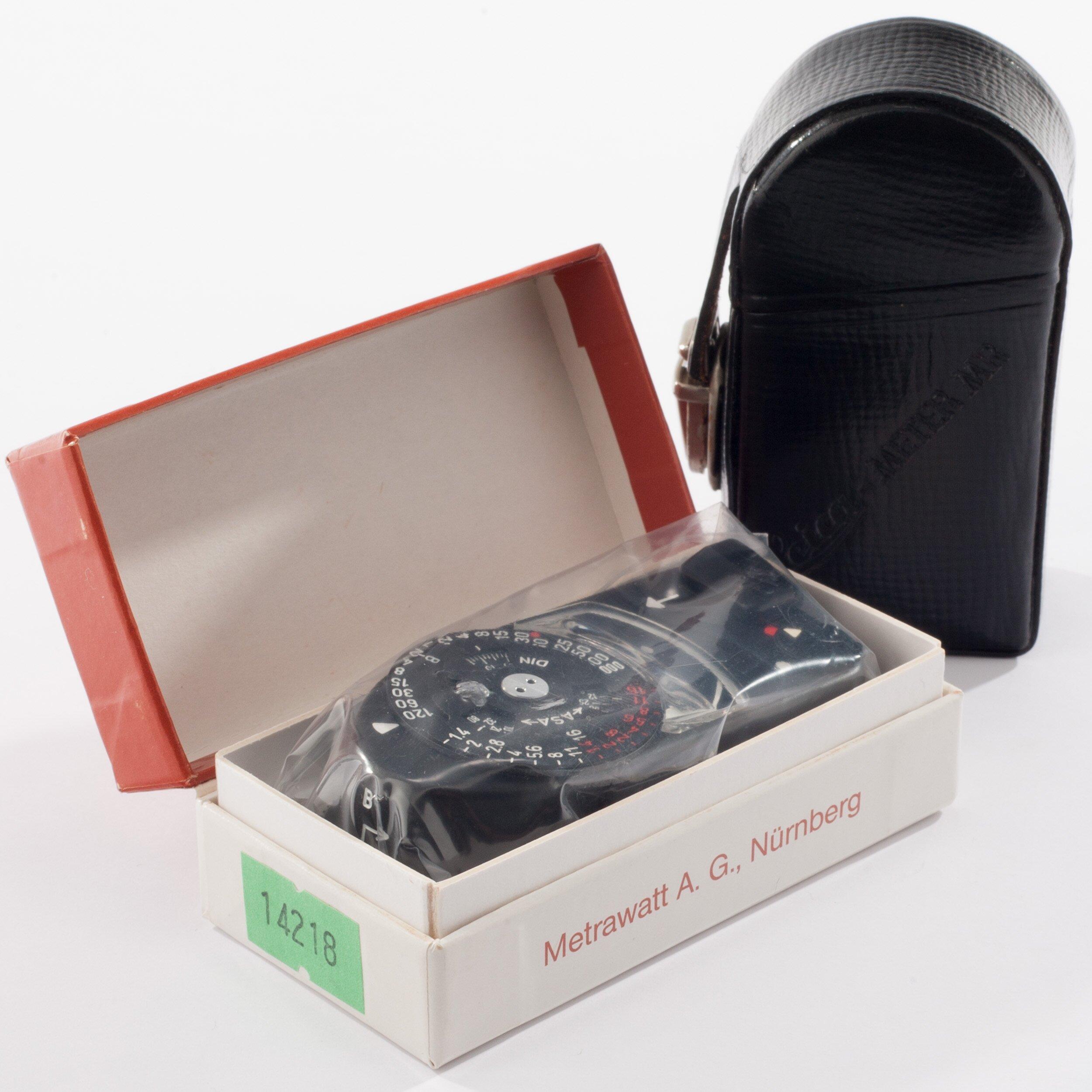 Leica Meter MR schwarz 14218 Neuware !