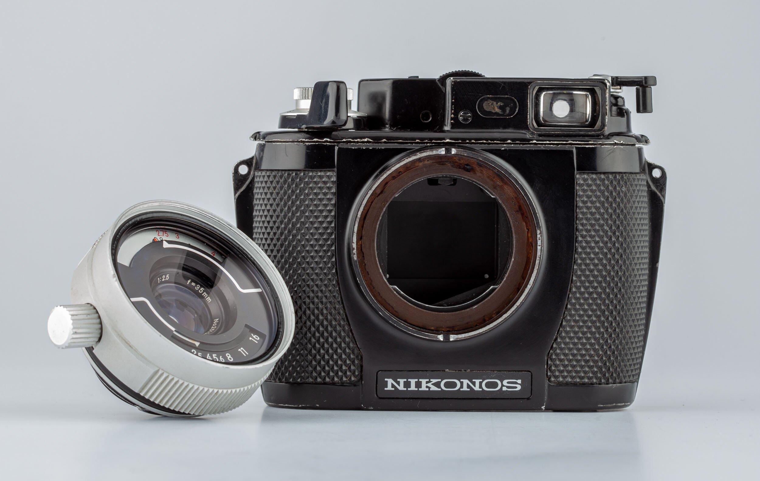 Nikonos II W-Nikkor 2,5/35mm