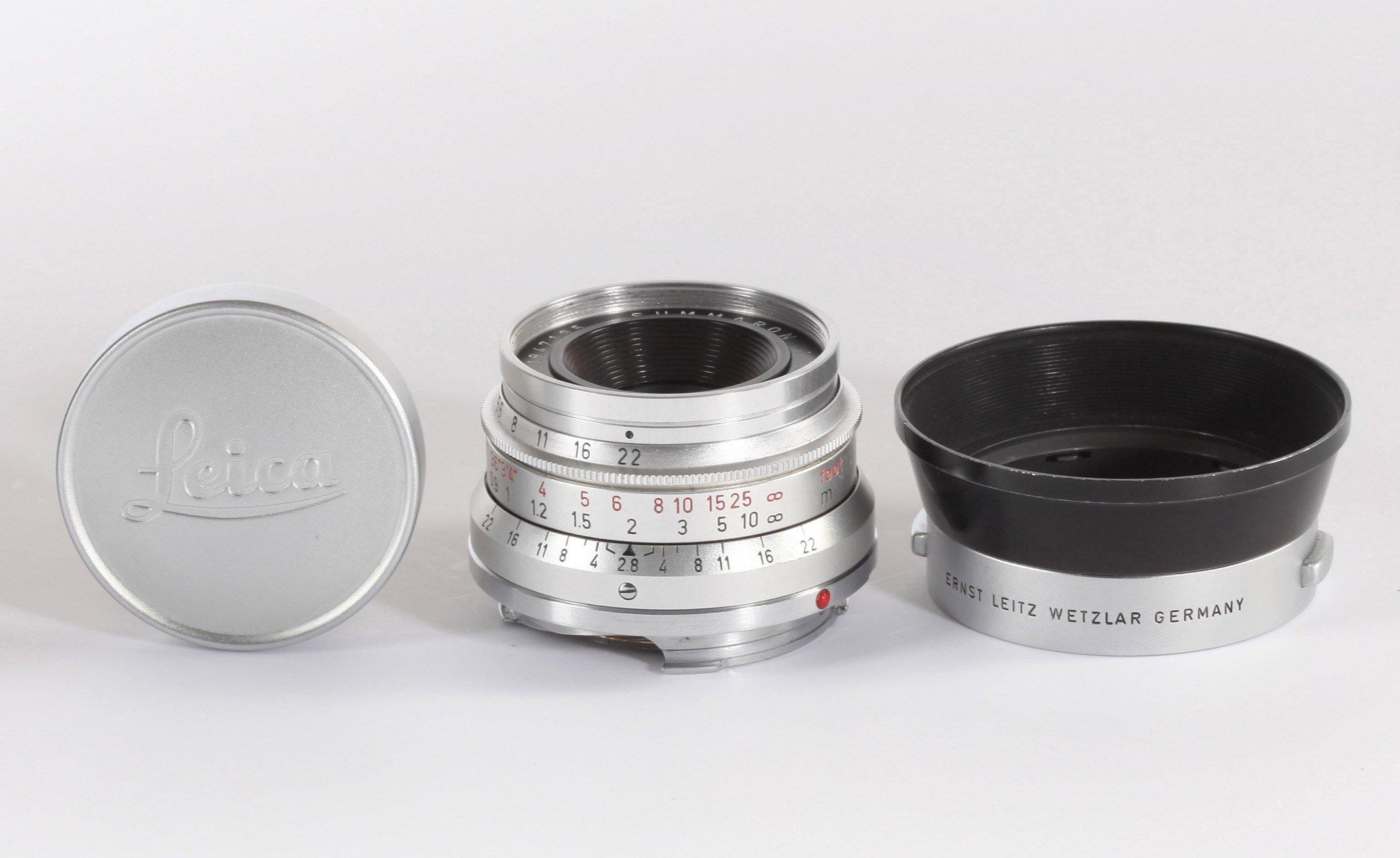 Leica M 35mm 2,8 Summaron chrom