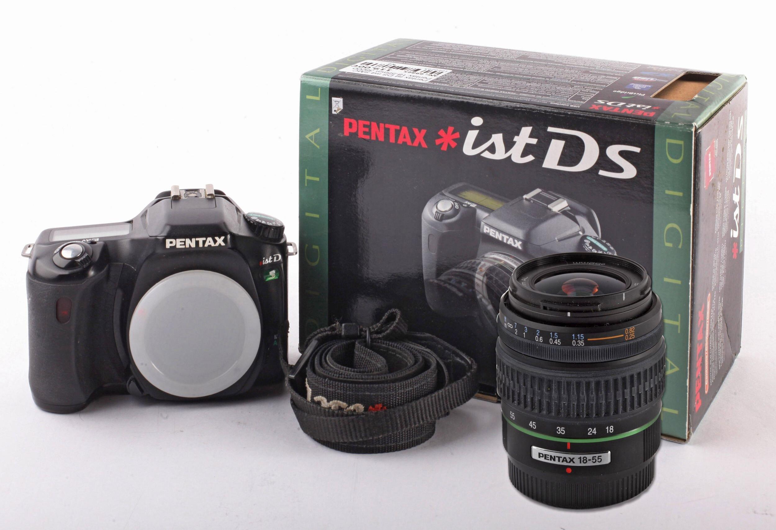 Pentax ist DS mit SMC Pentax 18-55mm 38000 Auslösungen