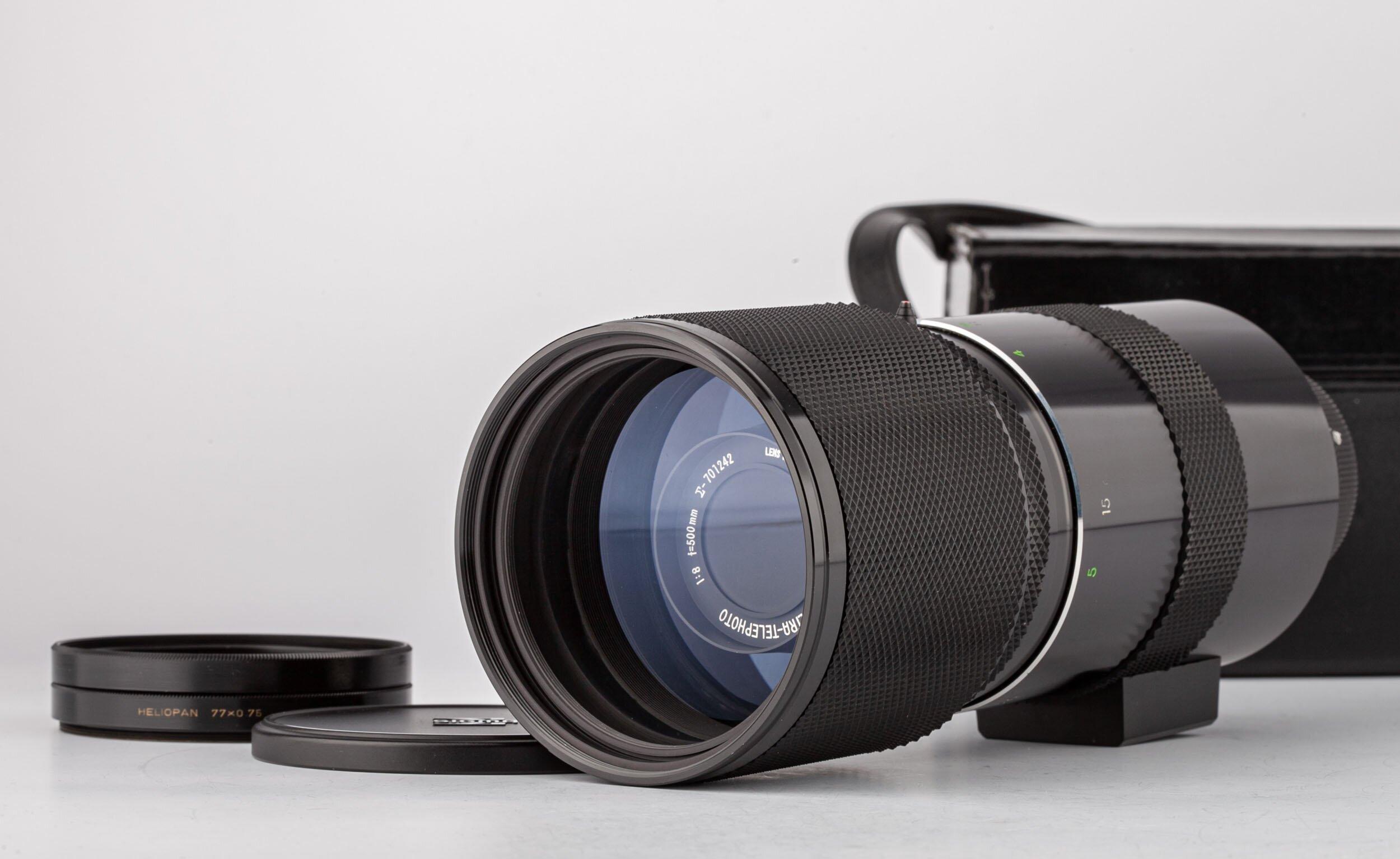 Sigma-XQ Mirror Ultra-Telephoto 8,8/500mm M42 Adapter