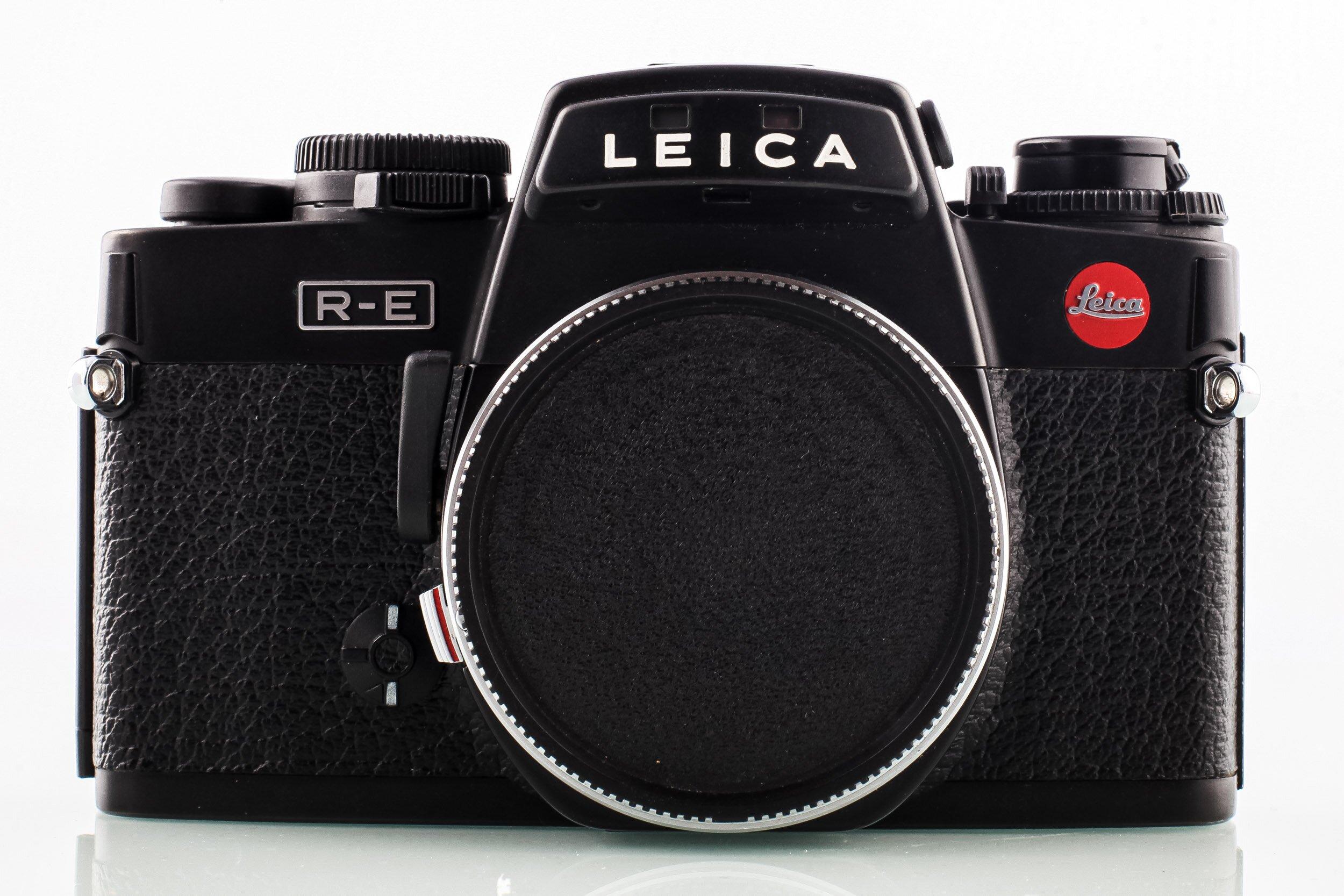 Leica R-E Gehäuse schwarz