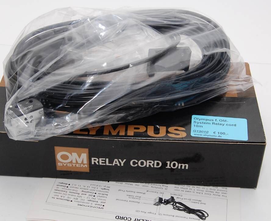 Olympus f. OM-System Relay cord 10m