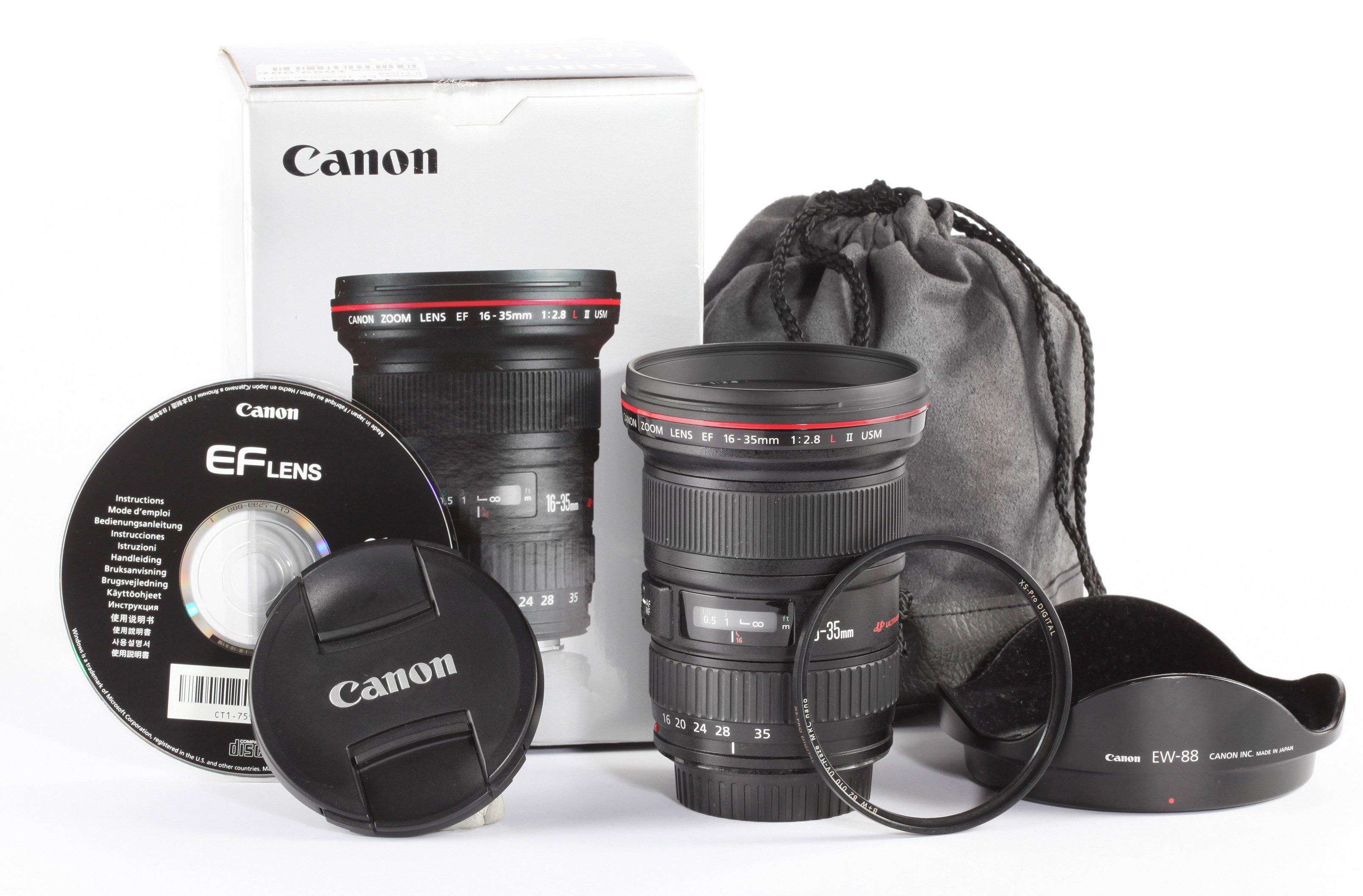 Canon EF 16-35mm 2,8 L II USM
