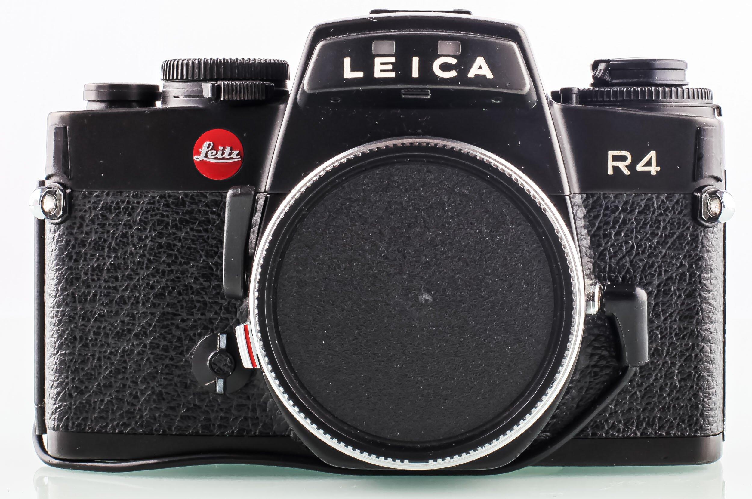 Leica R4 Gehäuse mit DB Rückwand