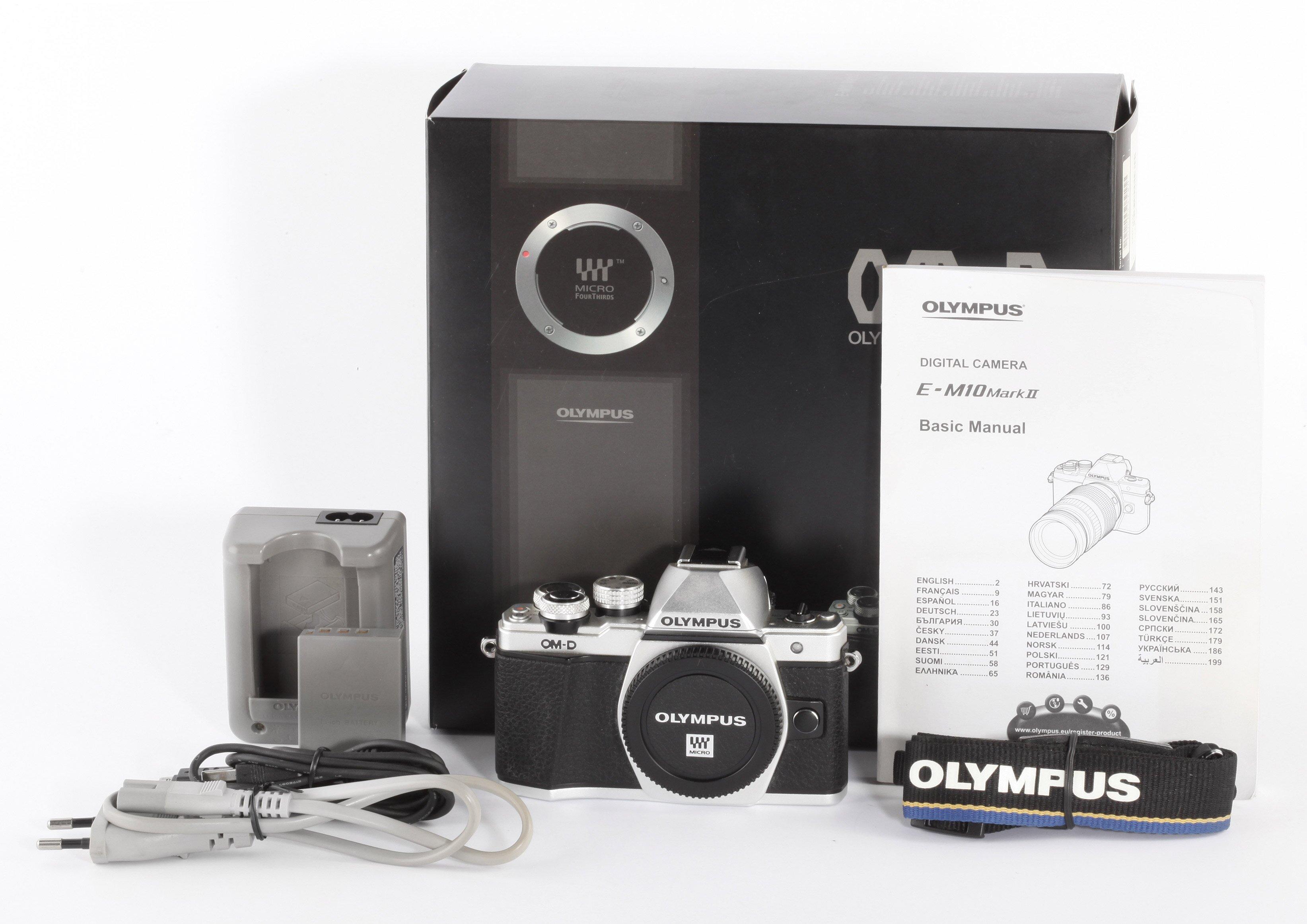 Olympus OM-D E-M 10 II