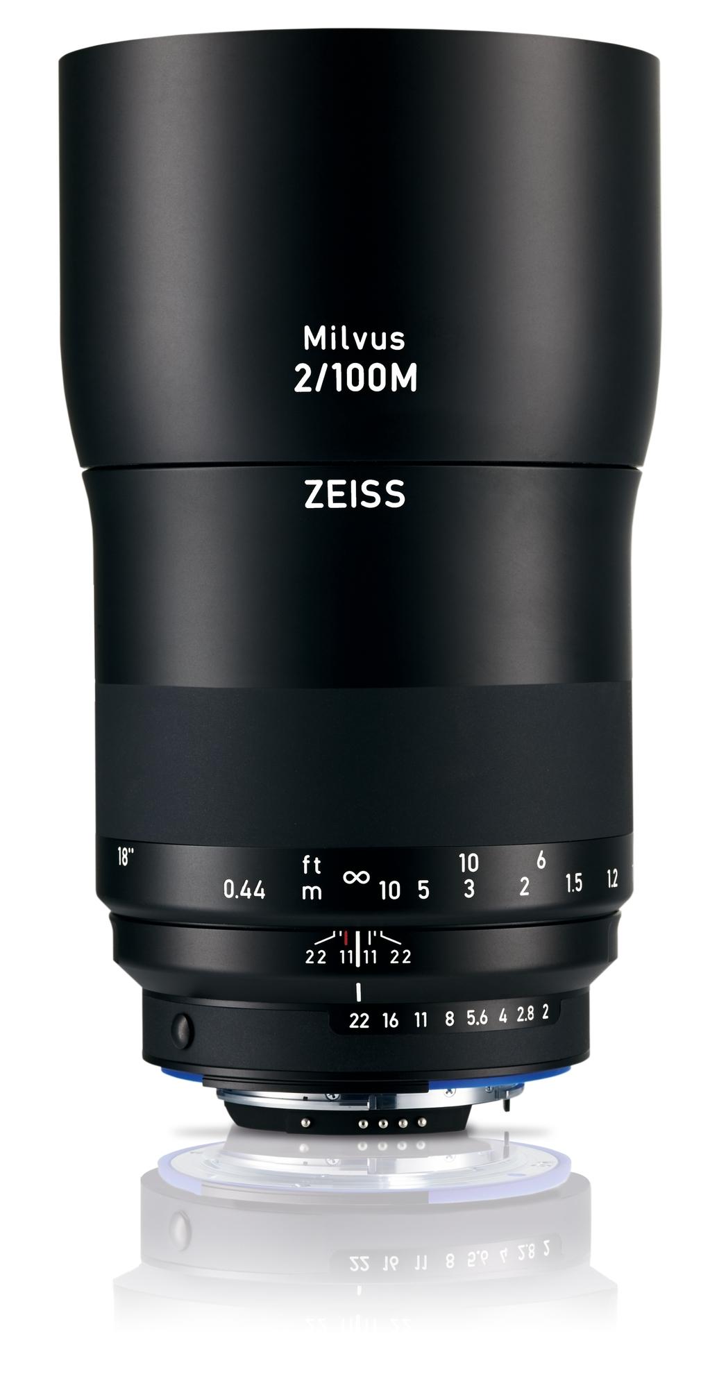 ZEISS Milvus 100mm 1:2,0 Makro ZF.2 f. Nikon