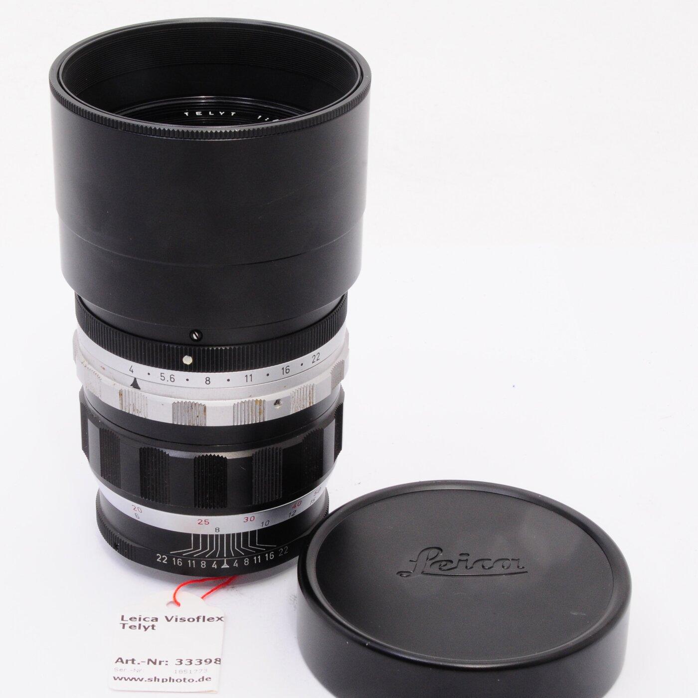 Leitz Leica Visoflex Telyt 200mm F4.0 Black