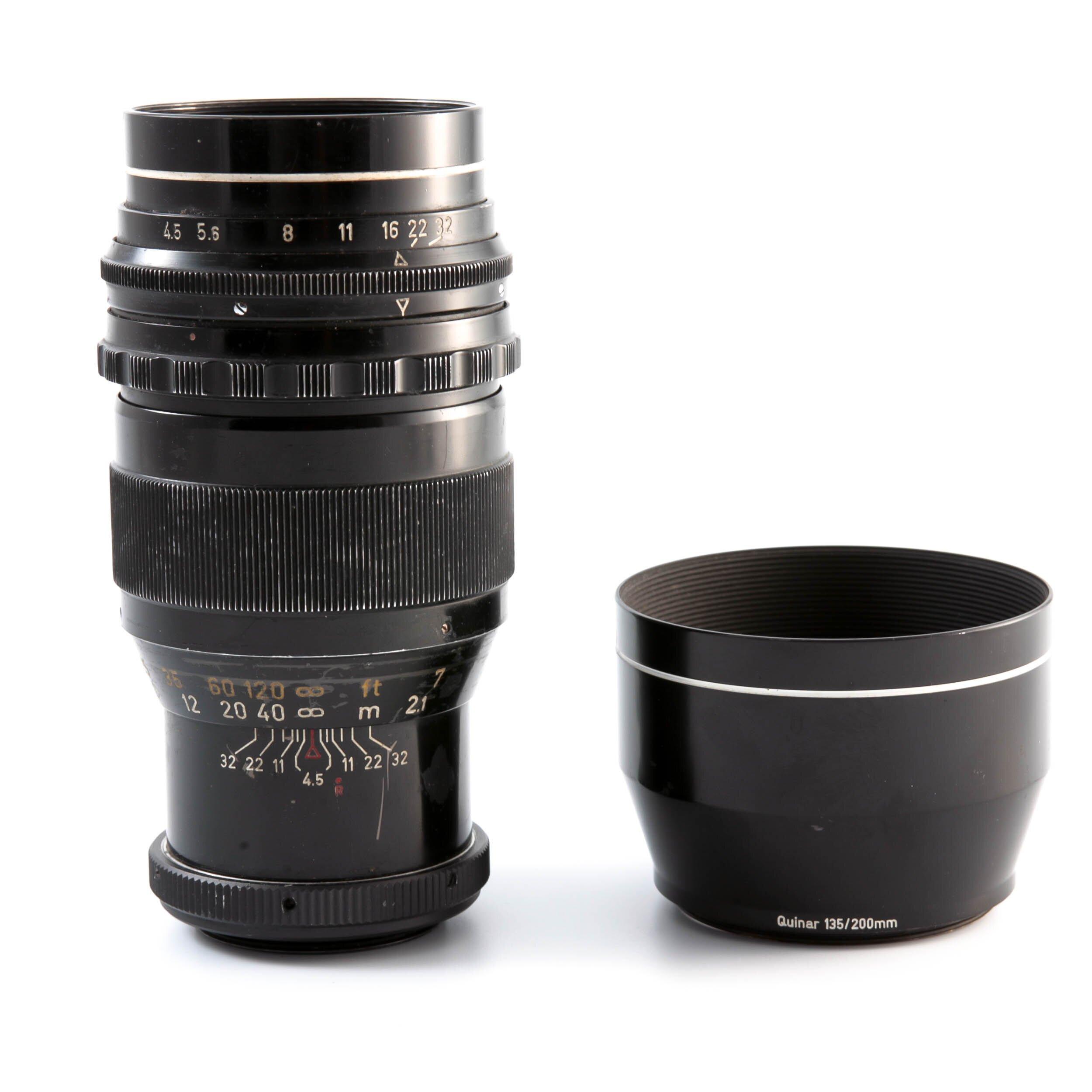 Steinheil M42  200mm 1:4,5 Tele-Quinar