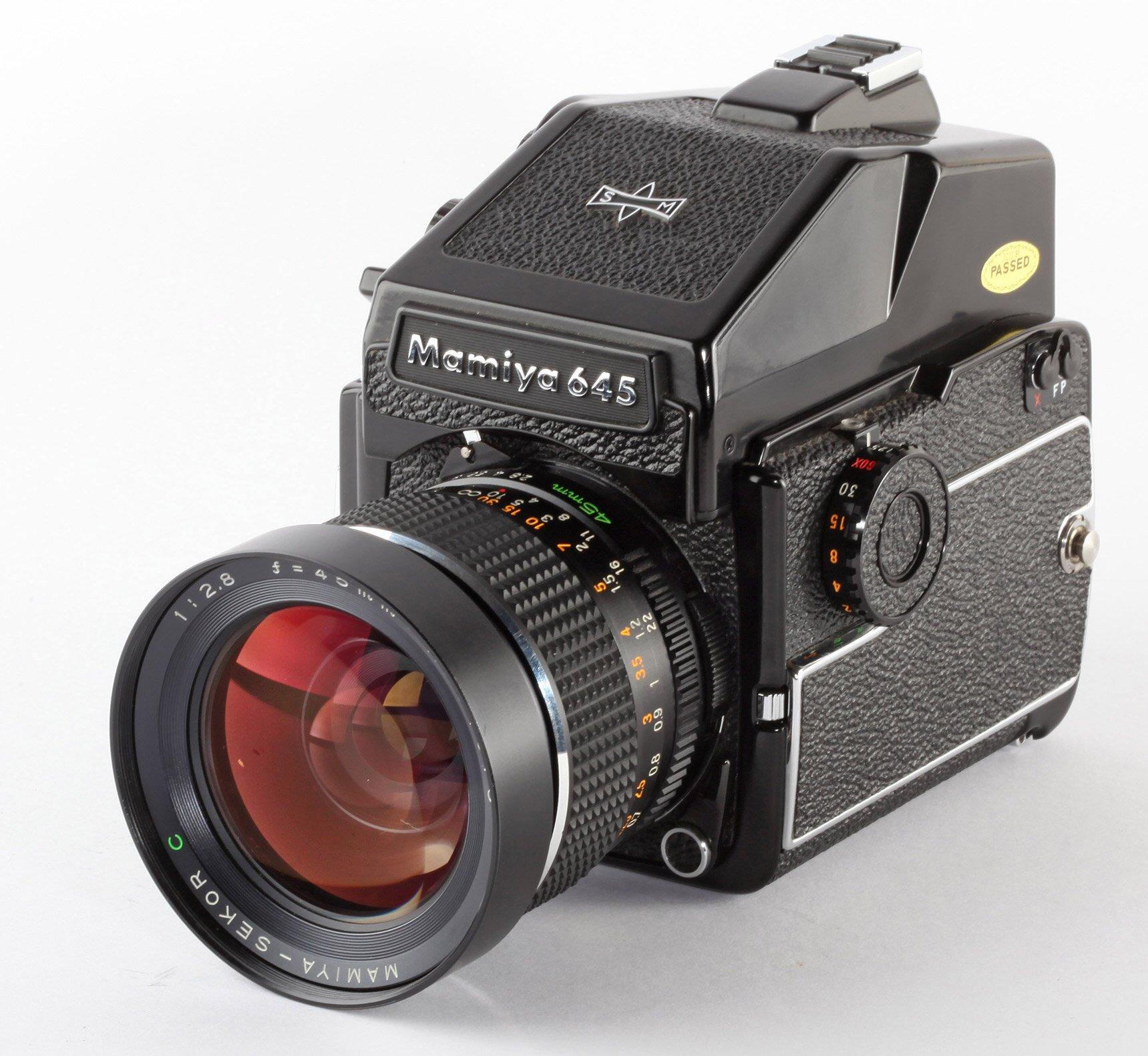 Mamiya M645 1000S PD Prisma 2,8/45mm Set