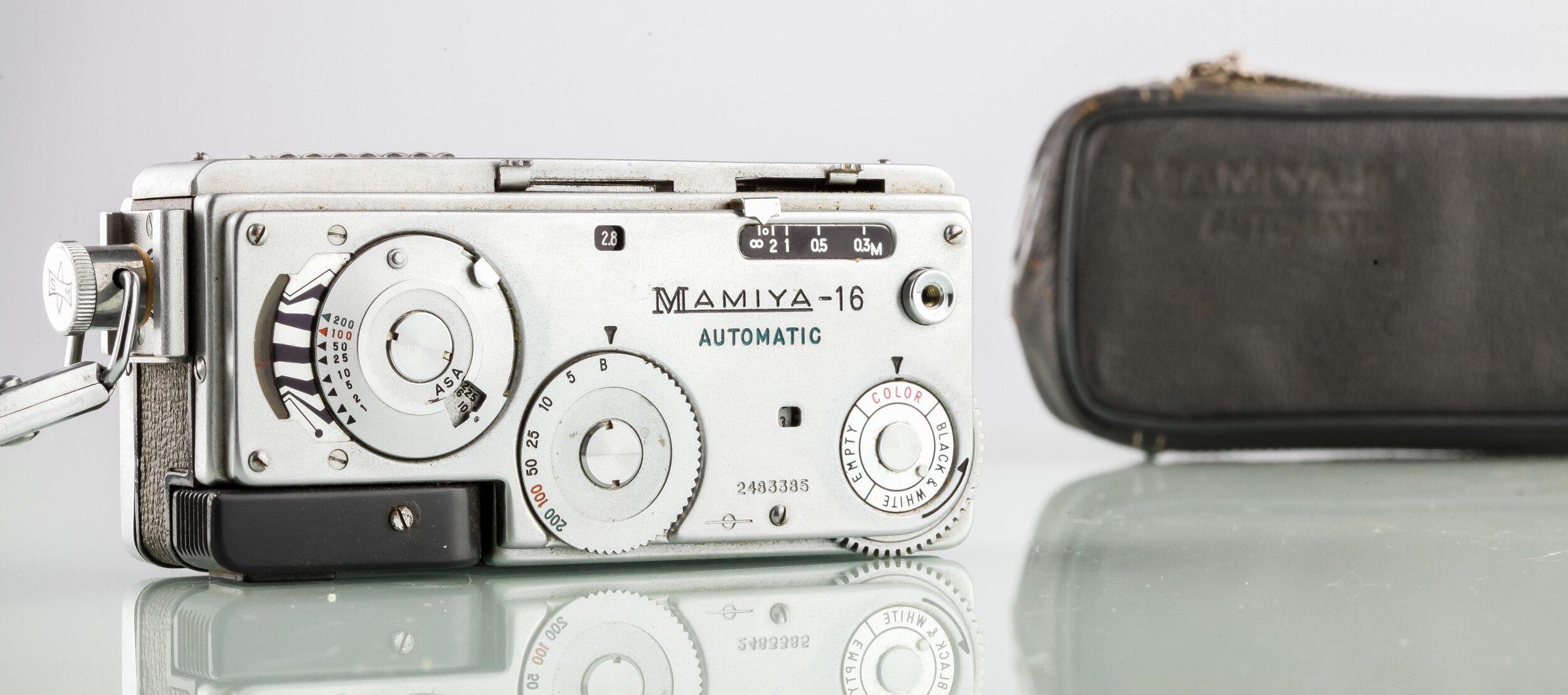 MAMIYA 16 Automatik Spionagekamera