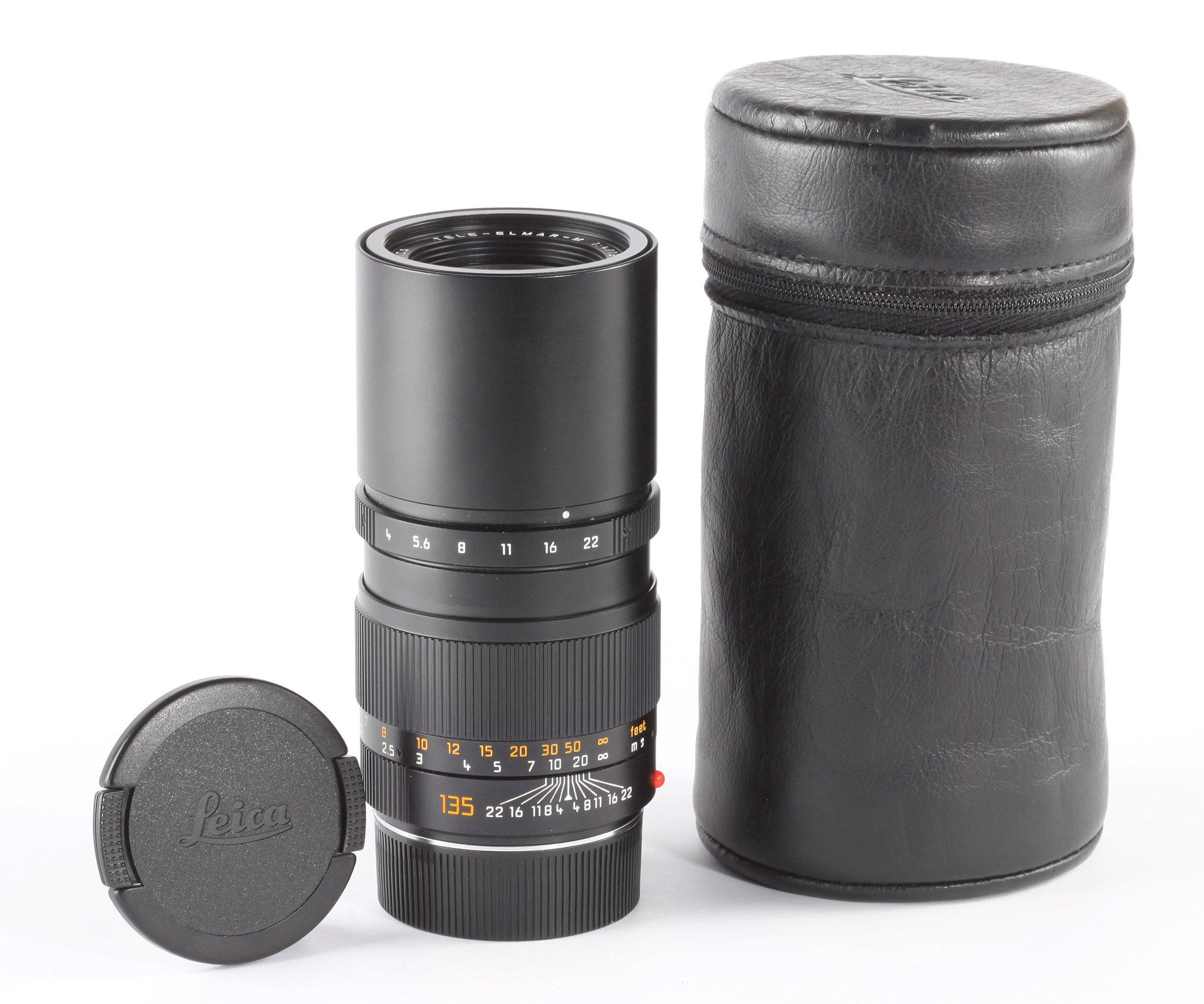 Leica M 135mm 4 Tele-Elmar-M E46
