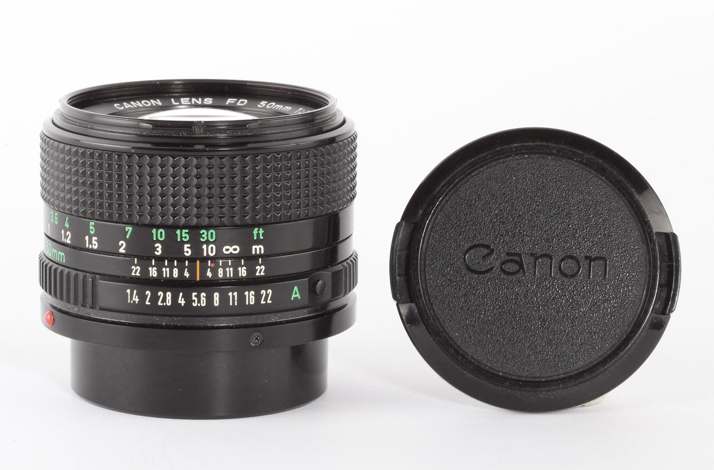 Canon FD 50mm/1,4