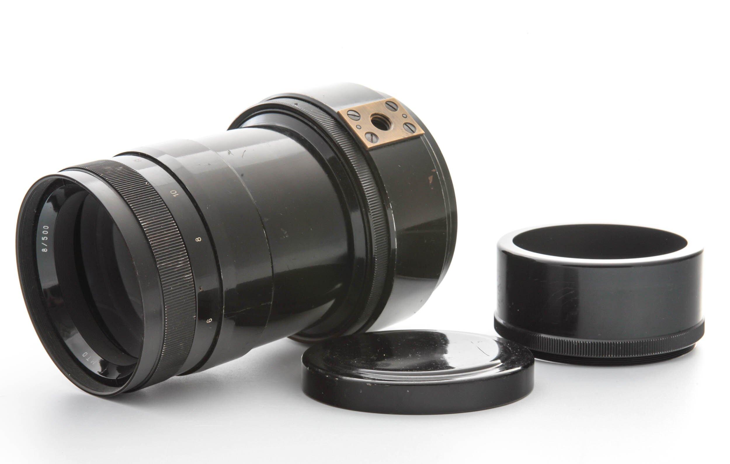MTO M39 500mm 1:8 Spiegelobjektiv