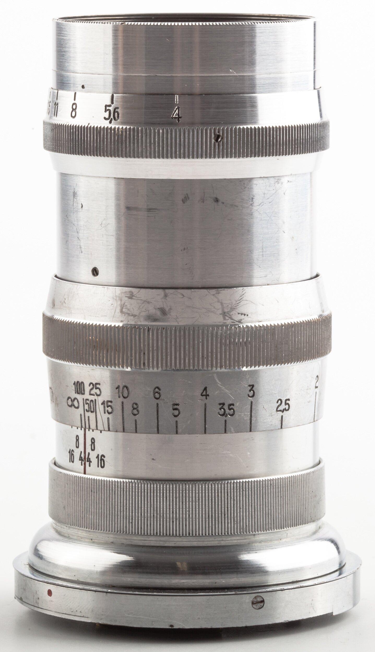 Carl Zeiss Sonnar 4/13,5cm Contax RF