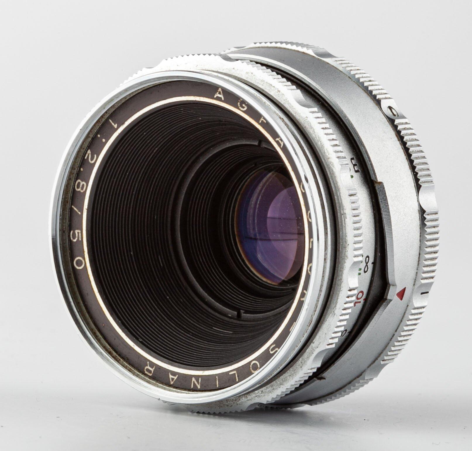 Agfa Color-Solinar 2,8/50mm Agfa Ambiflex
