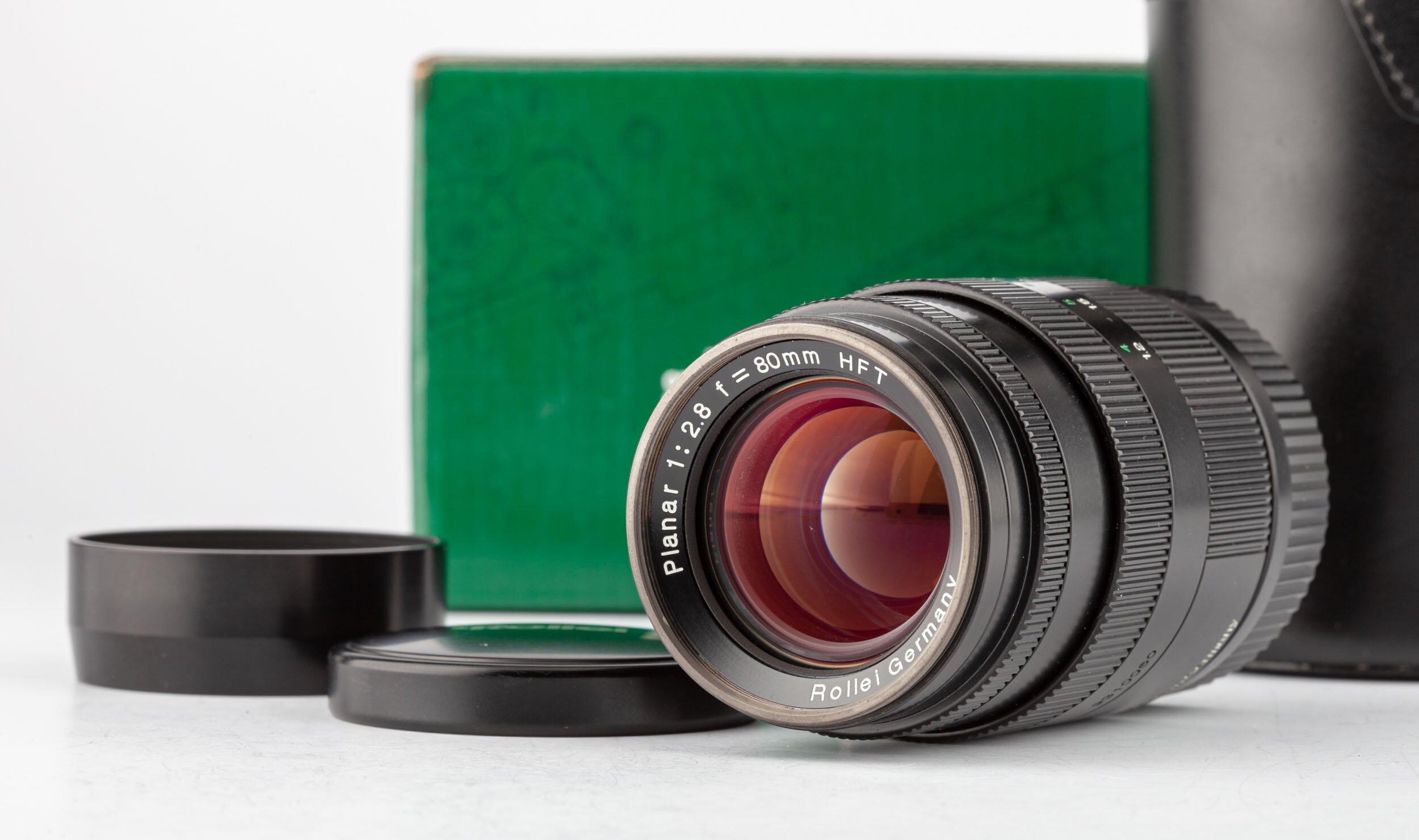 Rollei 35RF Planar 80mm F2.8 für Leica M