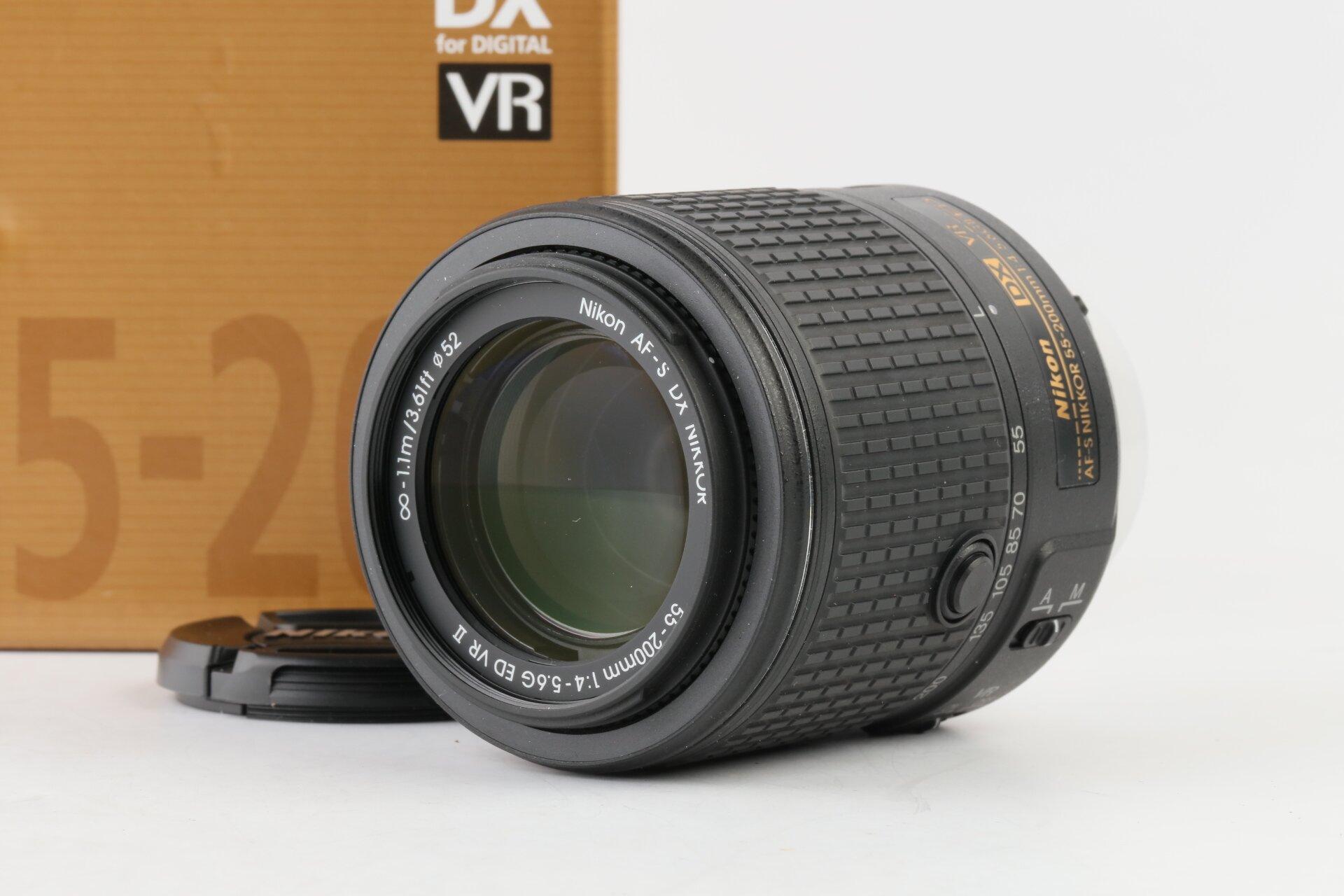 Nikon AF-S Nikkor 55-200mm 4-5,6 G II ED DX VR