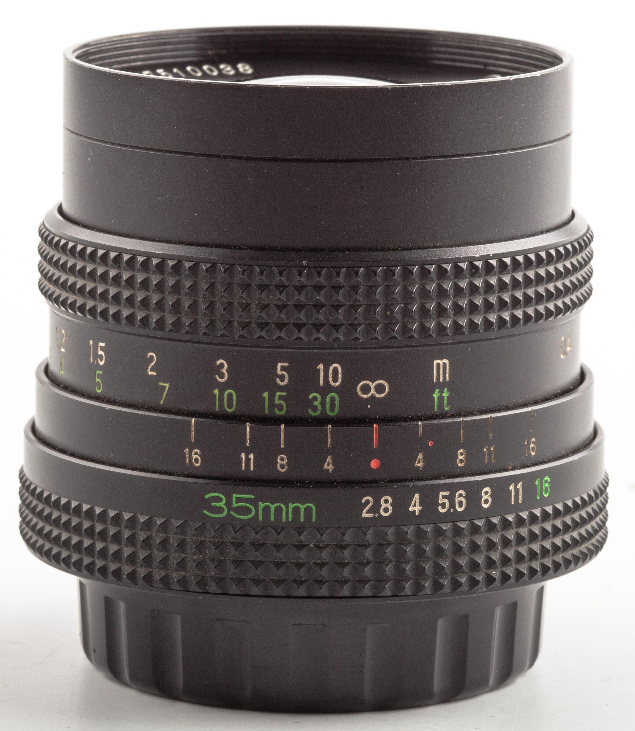 Rollei SLR 35mm F2.8 Rolleinar MC